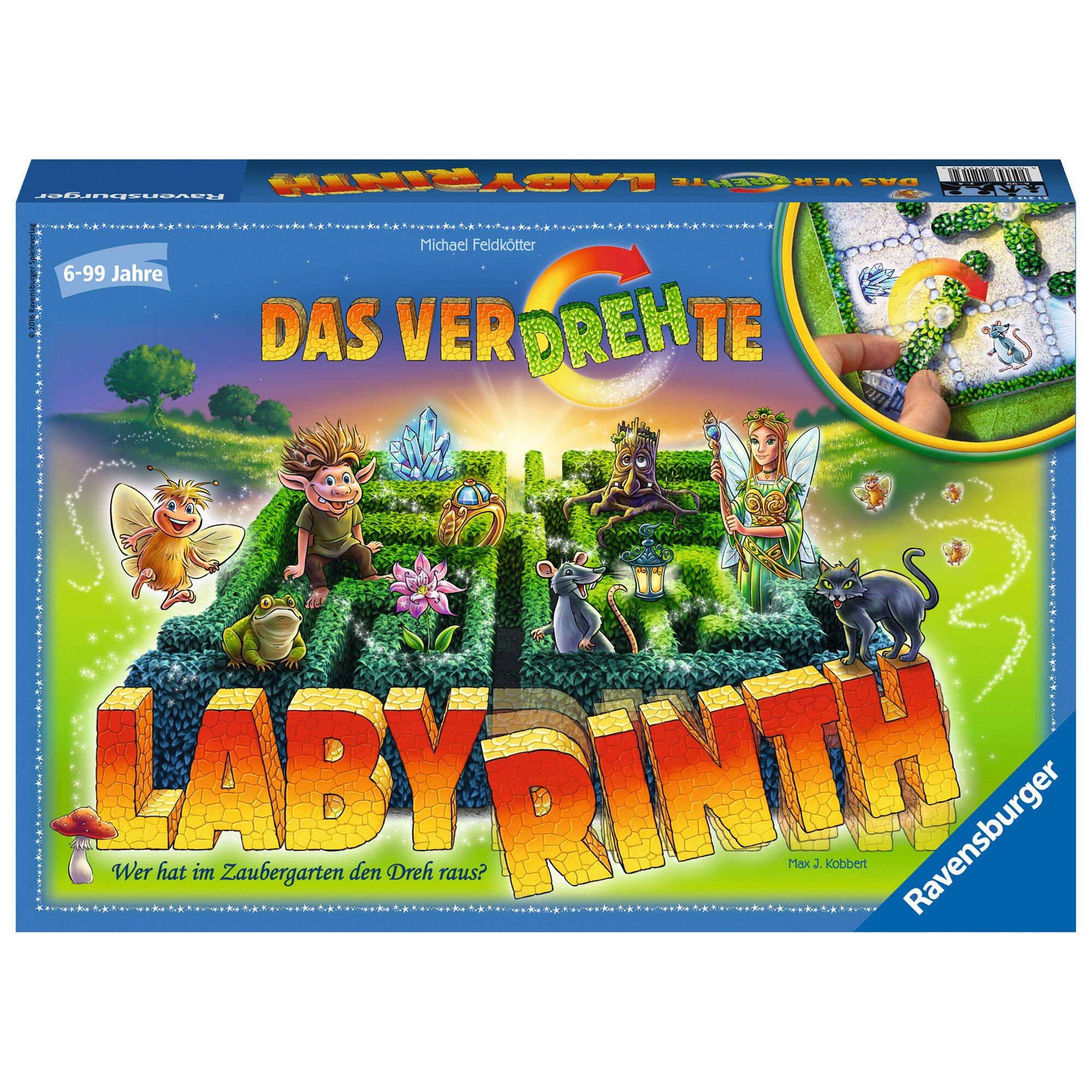 Ravensburger Das verdrehte Labyrinth, Taktisches Laufspiel