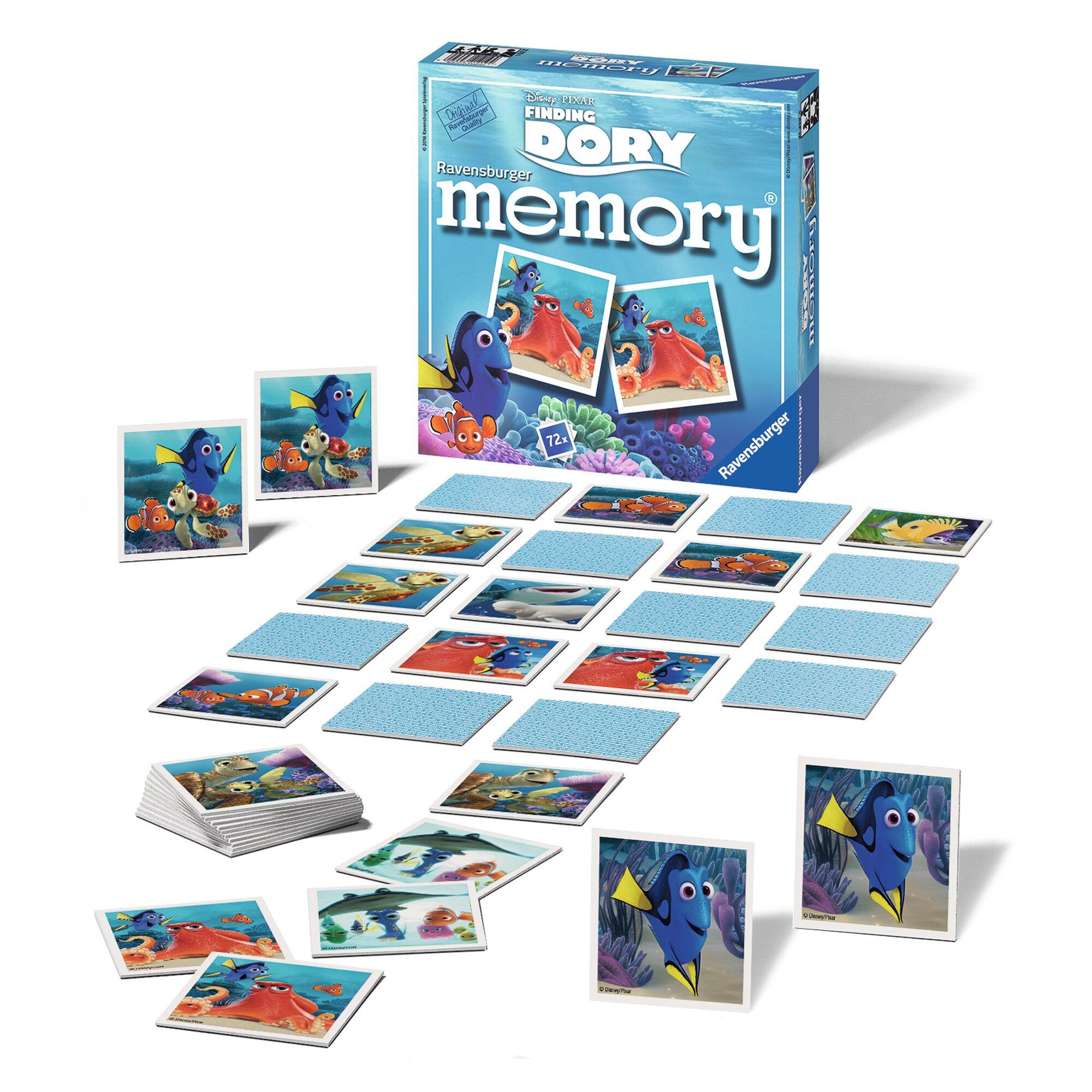 ravensburger-disney-pixar-finding-dory-memory-legekartenspiel, 18.99 EUR @ babywalz-de