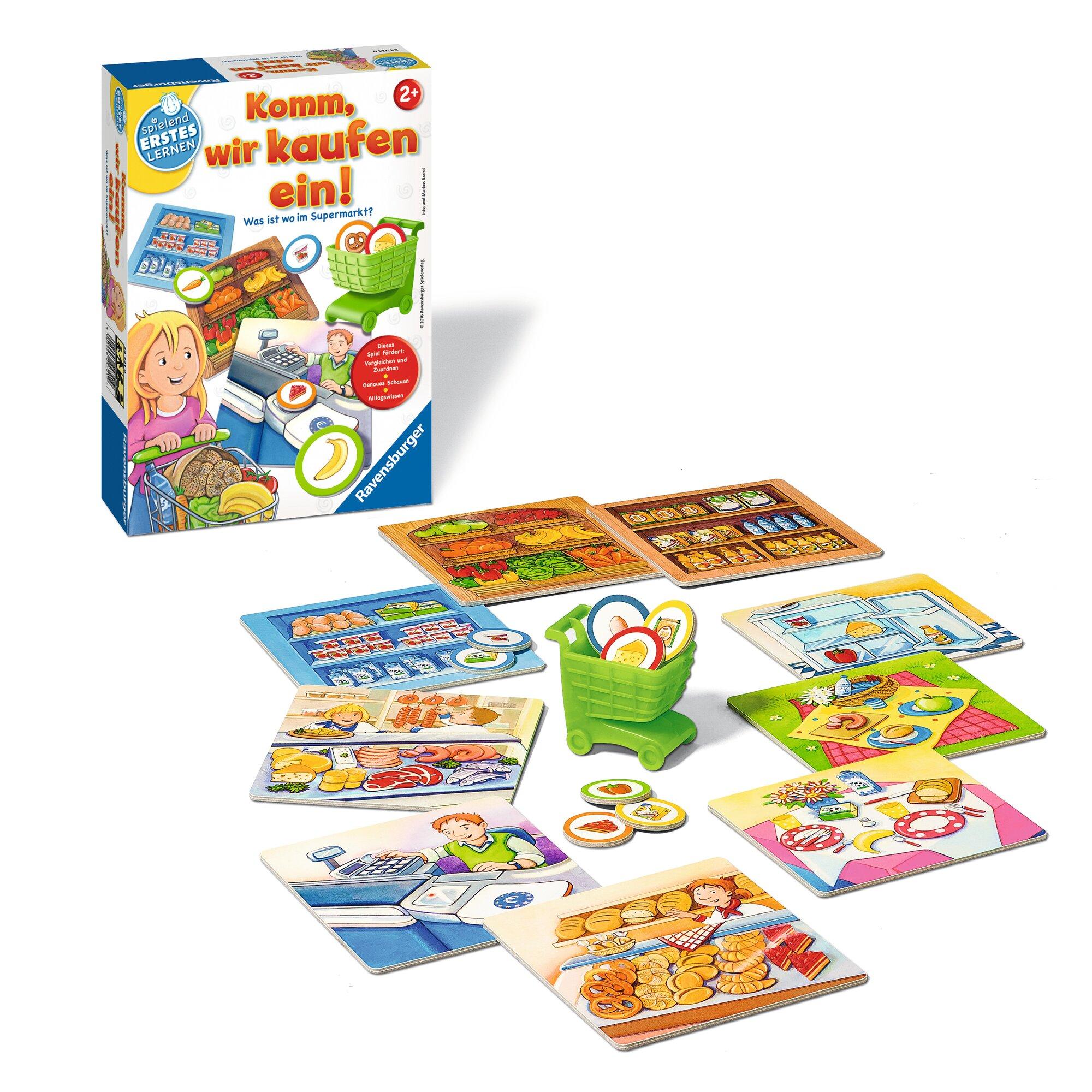 ravensburger-komm-wir-kaufen-ein-zuordnungsspiel, 9.99 EUR @ babywalz-de