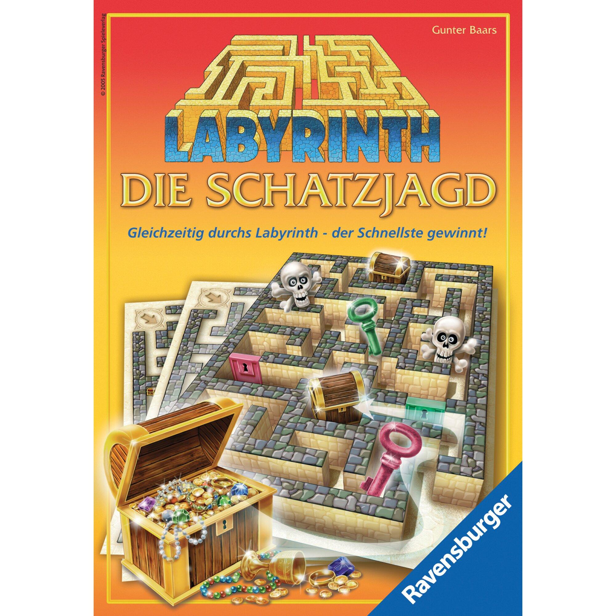 Ravensburger Labyrinth – Die Schatzjagd, Schnelligkeitsspiel