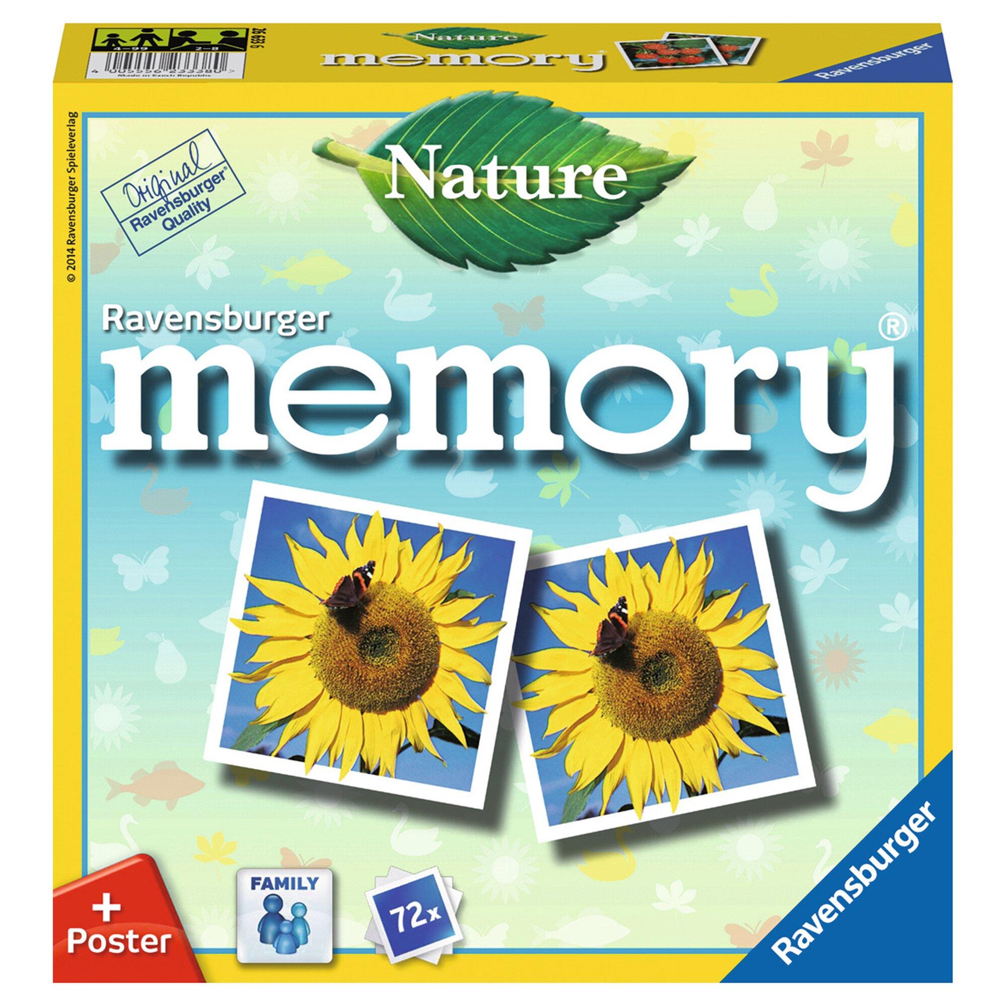 Ravensburger Nature memory®, Legekartenspiel