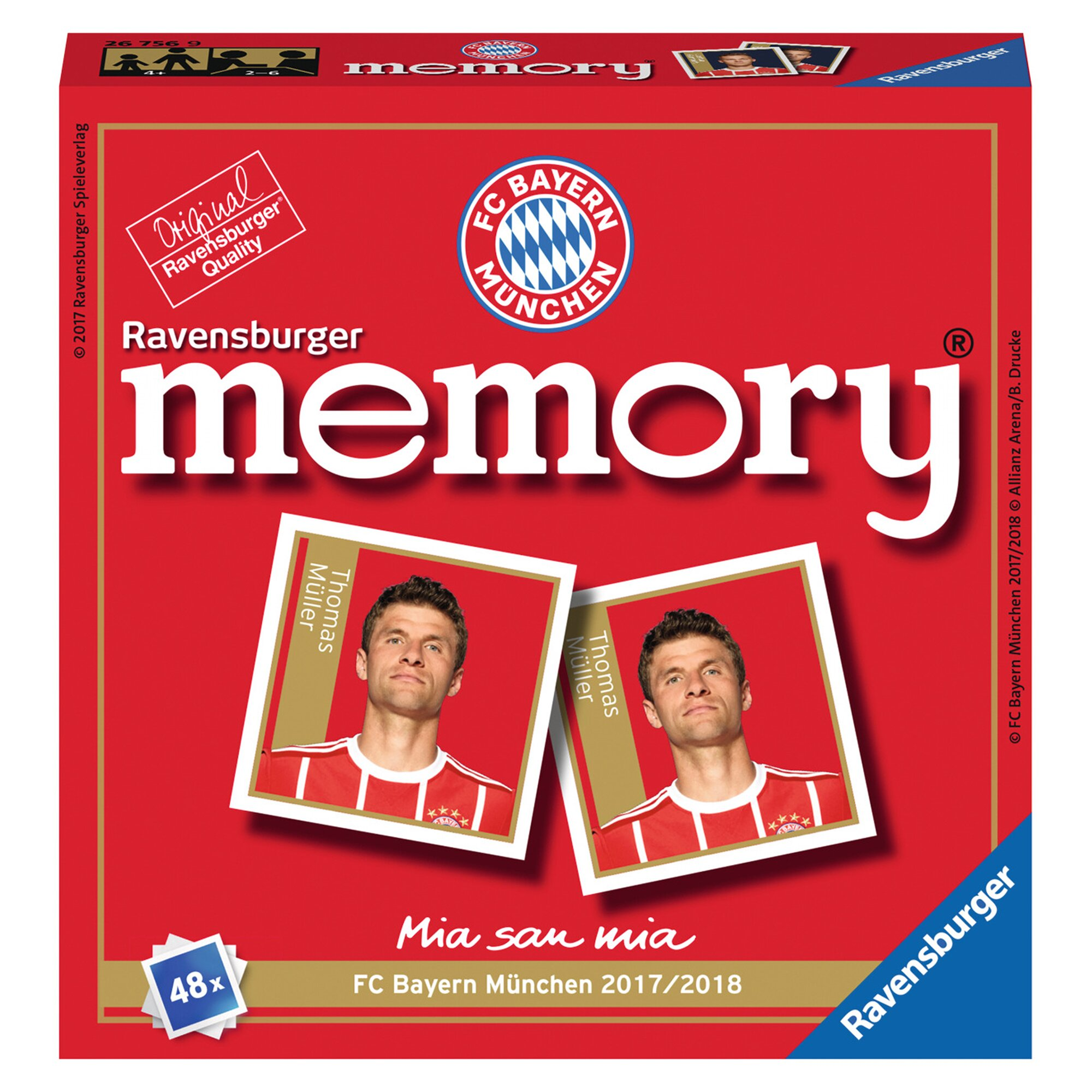 Ravensburger FC Bayern München memory®, Legekartenspiel