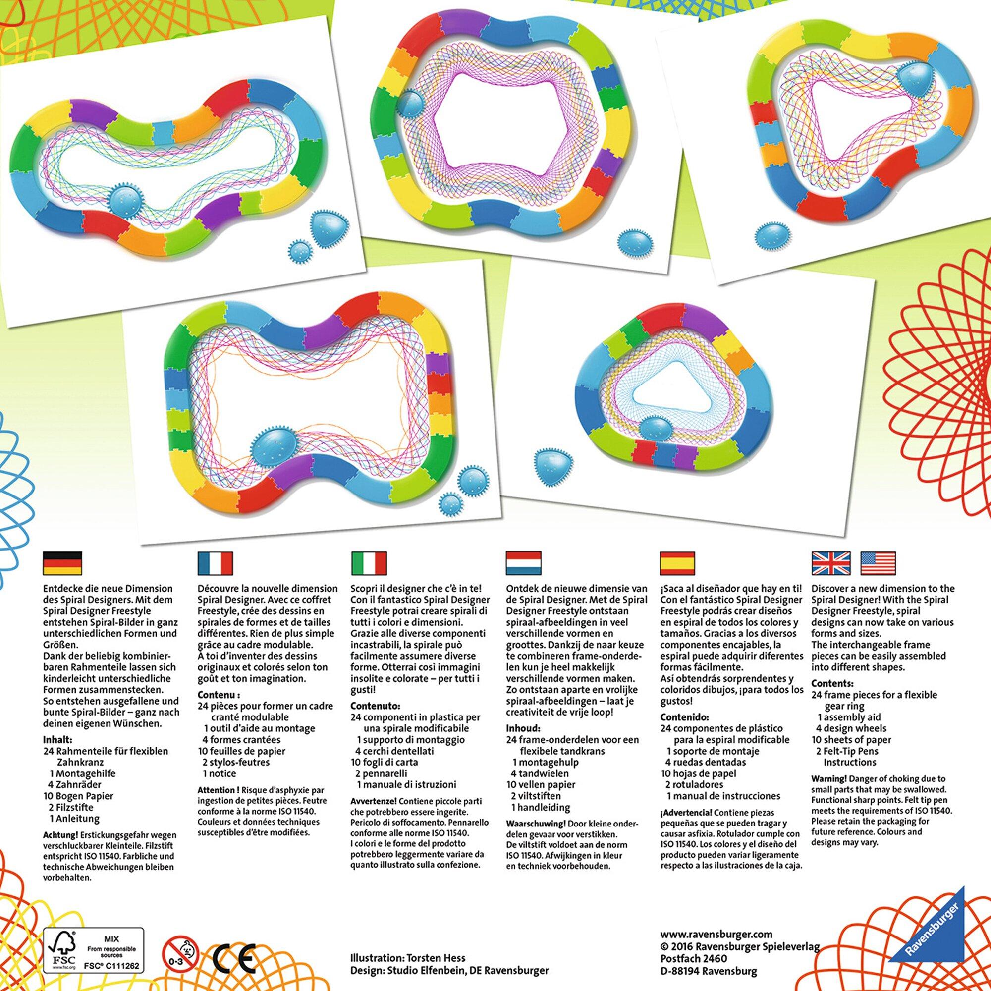 ravensburger-spiral-designer-freestyle-beschaftigungsspiel, 17.99 EUR @ babywalz-de