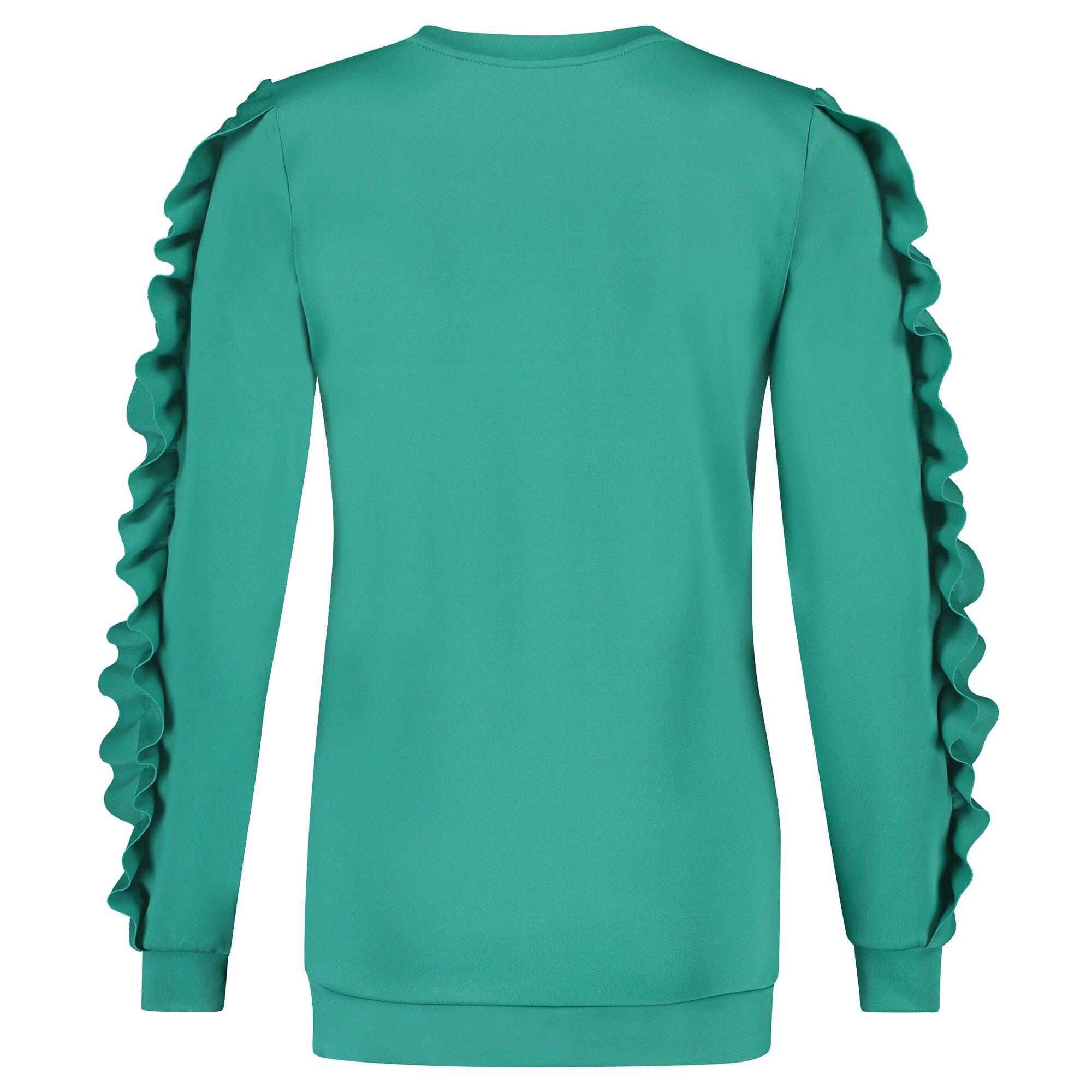 supermom-pullover-green-ruffle