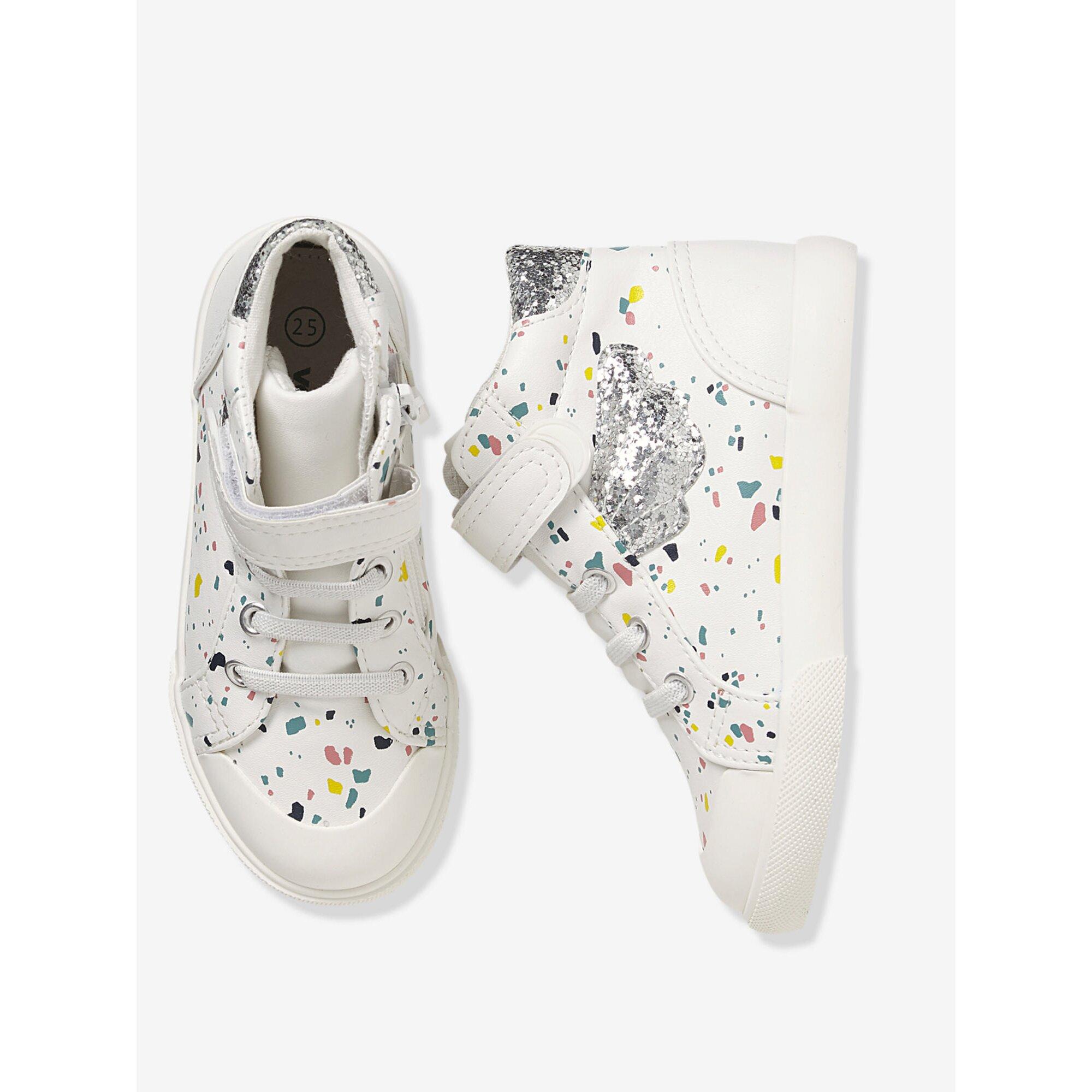 vertbaudet-hohe-sneakers-mit-anziehtrick-fur-madchen, 18.19 EUR @ babywalz-de