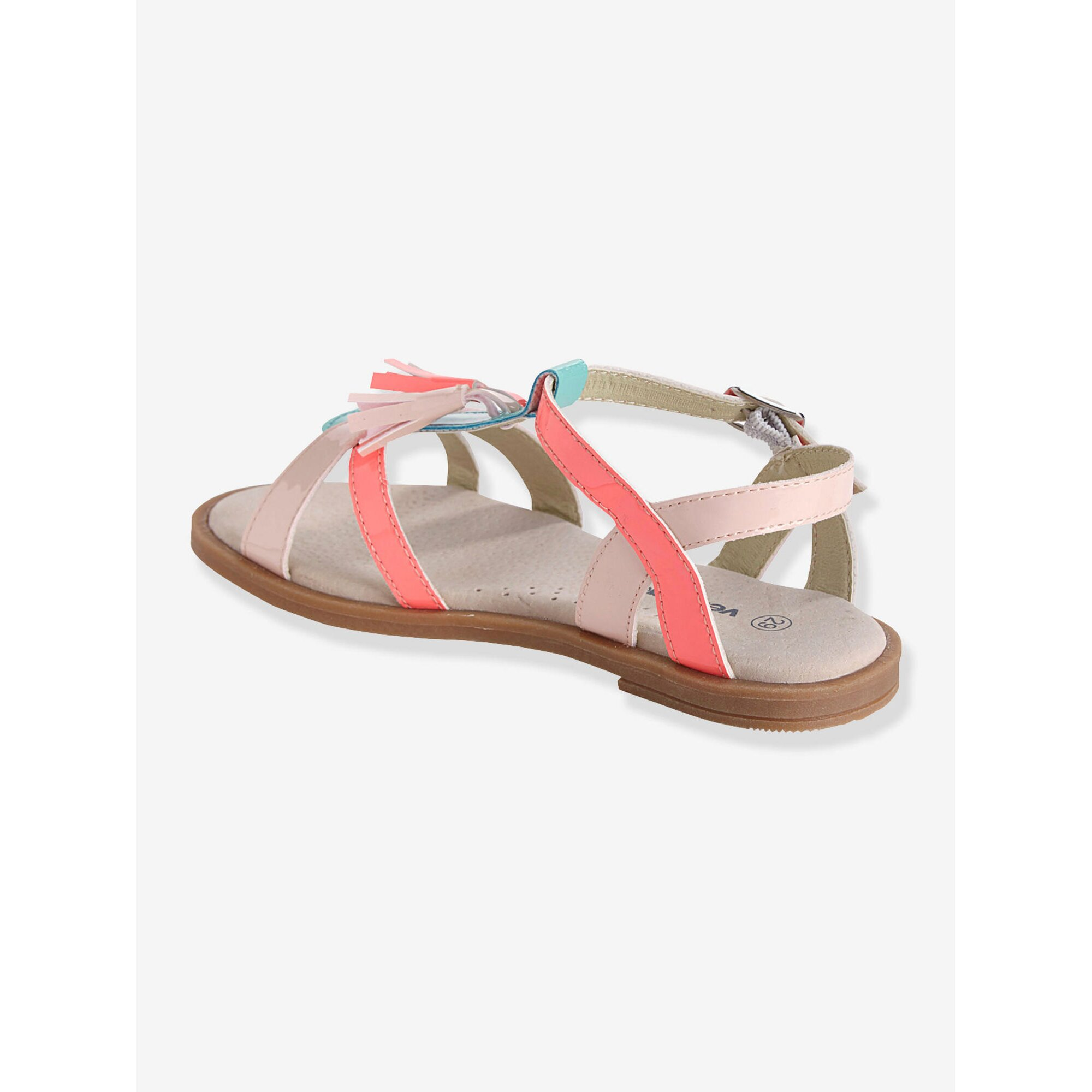 vertbaudet-madchen-sandalen-mit-quasten, 25.99 EUR @ babywalz-de