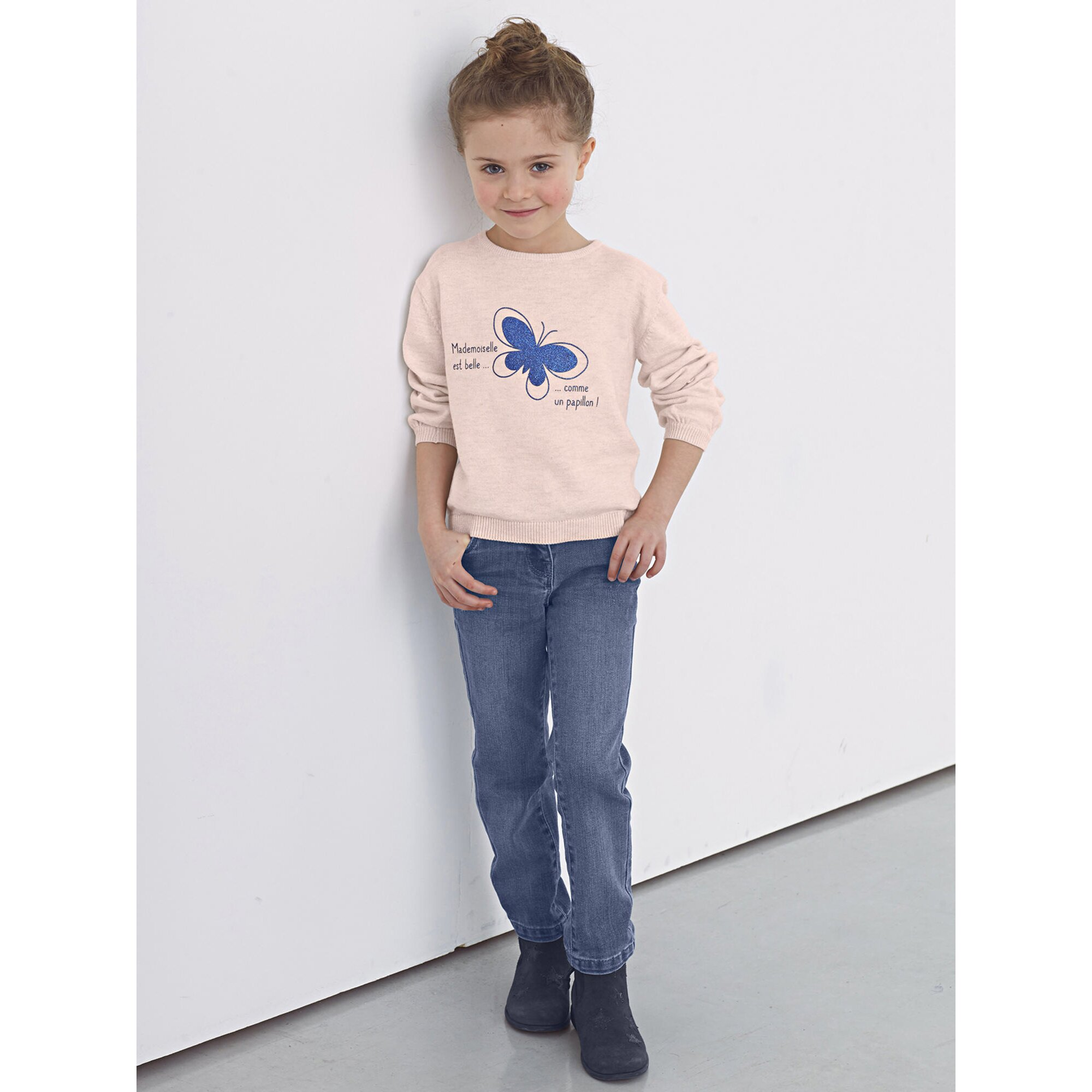 vertbaudet-stretch-jeans-fur-madchen-huftweite-comfort, 23.99 EUR @ babywalz-de