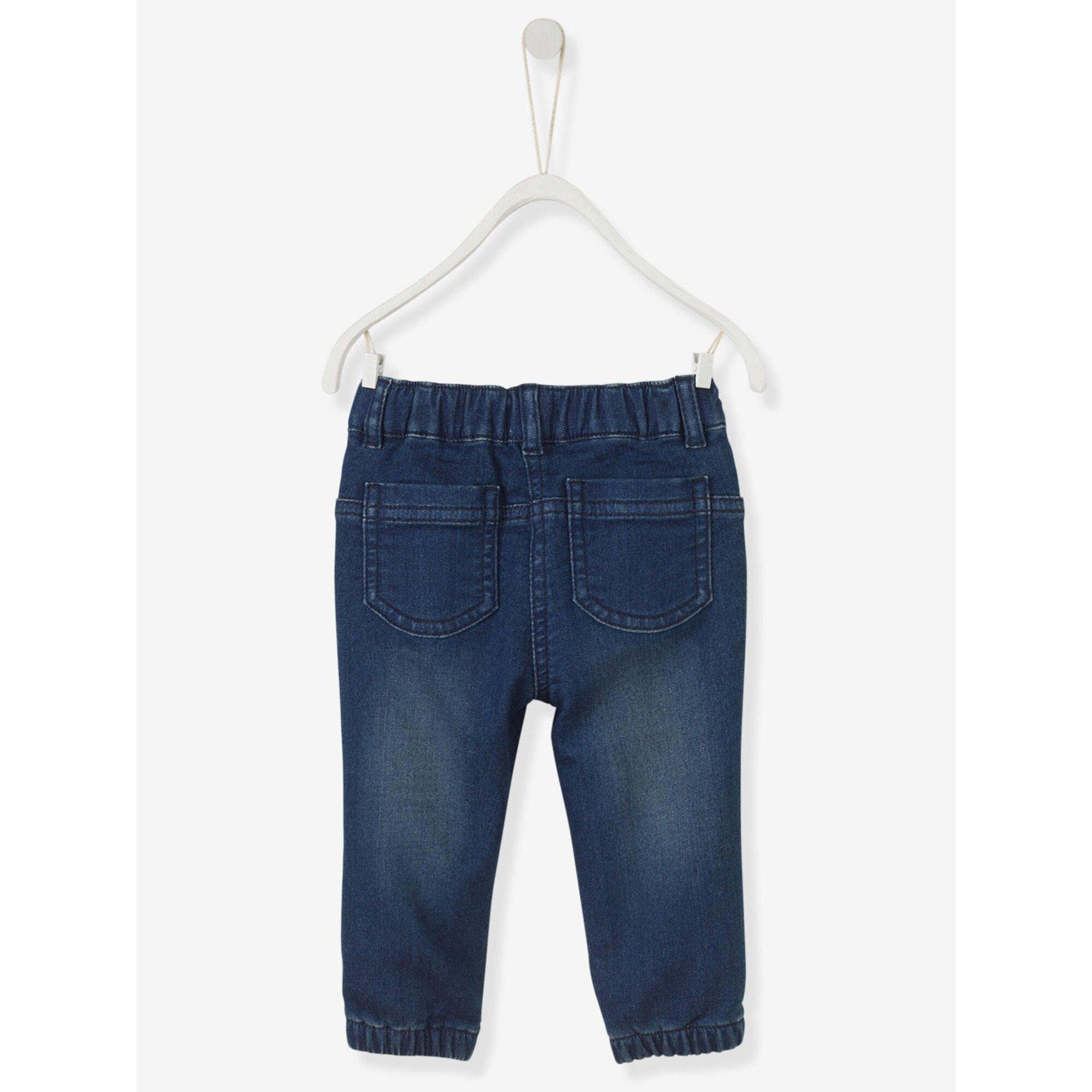 vertbaudet-sweathose-in-jeansoptik-baby-jungen, 18.99 EUR @ babywalz-de