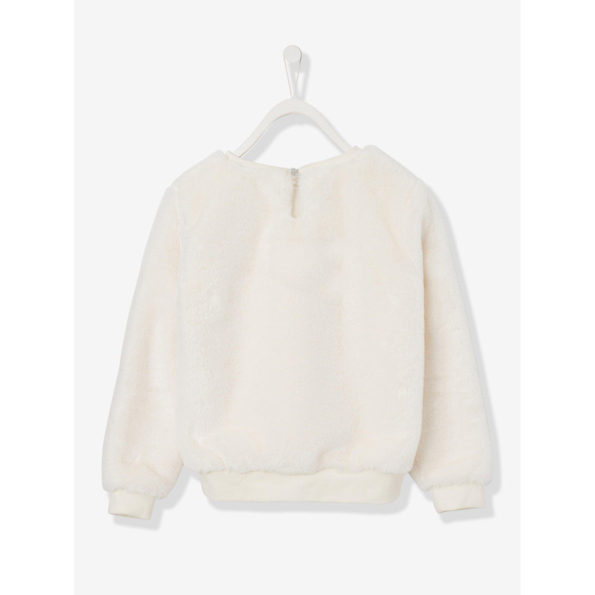 vertbaudet-madchen-fell-pullover, 25.99 EUR @ babywalz-de