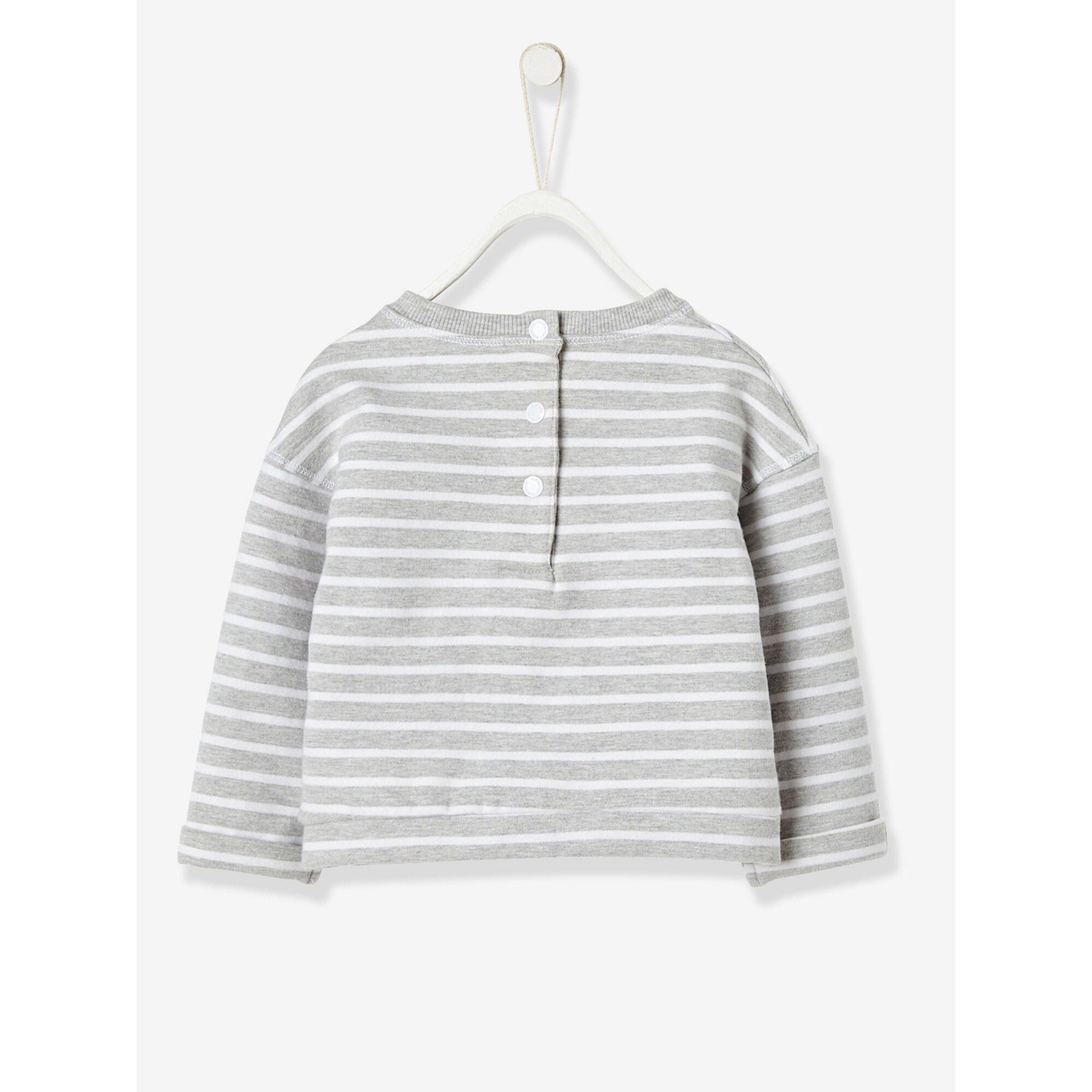 vertbaudet-sweatshirt-fur-baby-madchen, 15.99 EUR @ babywalz-de