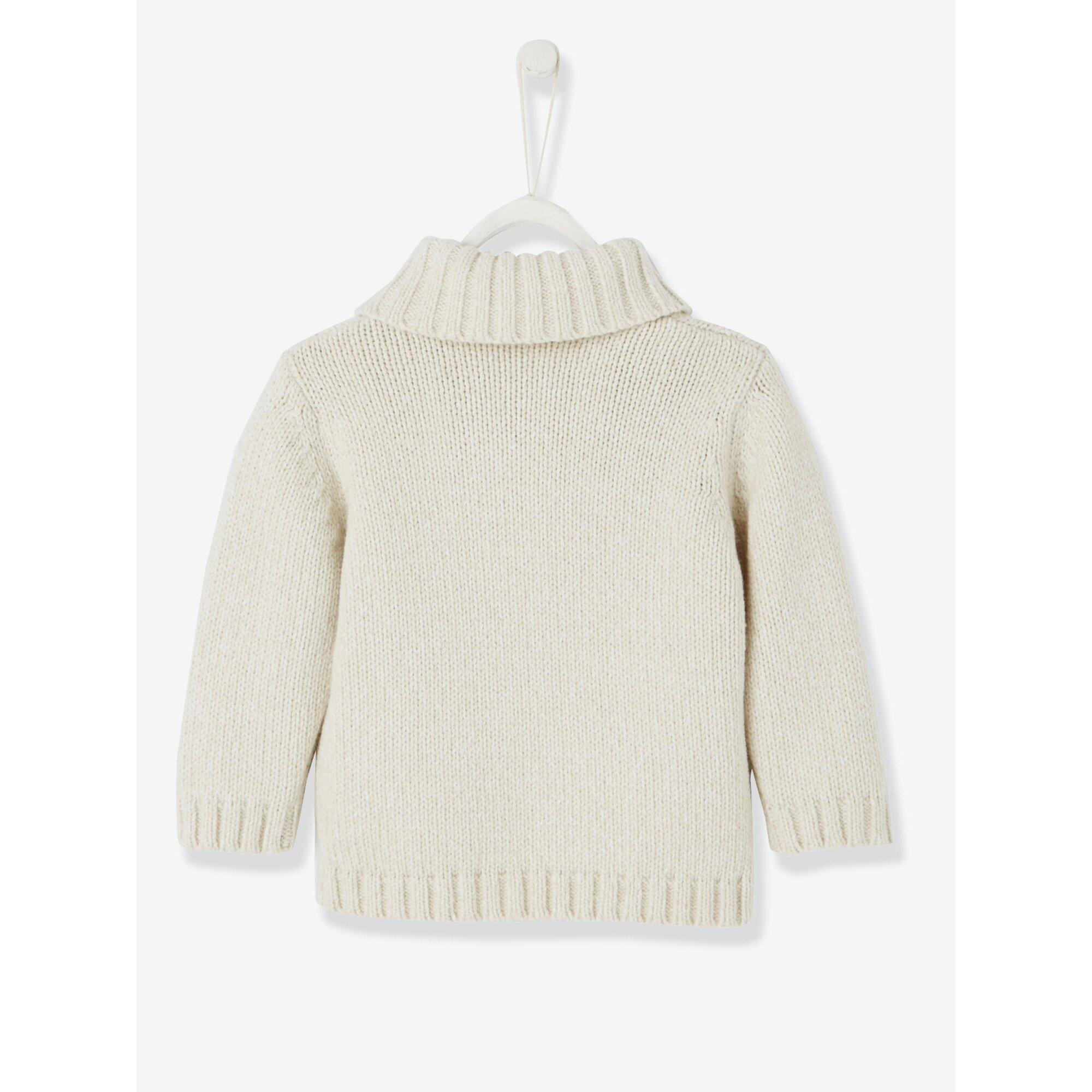 vertbaudet-pullover-fur-baby-jungen-schalkragen, 20.99 EUR @ babywalz-de