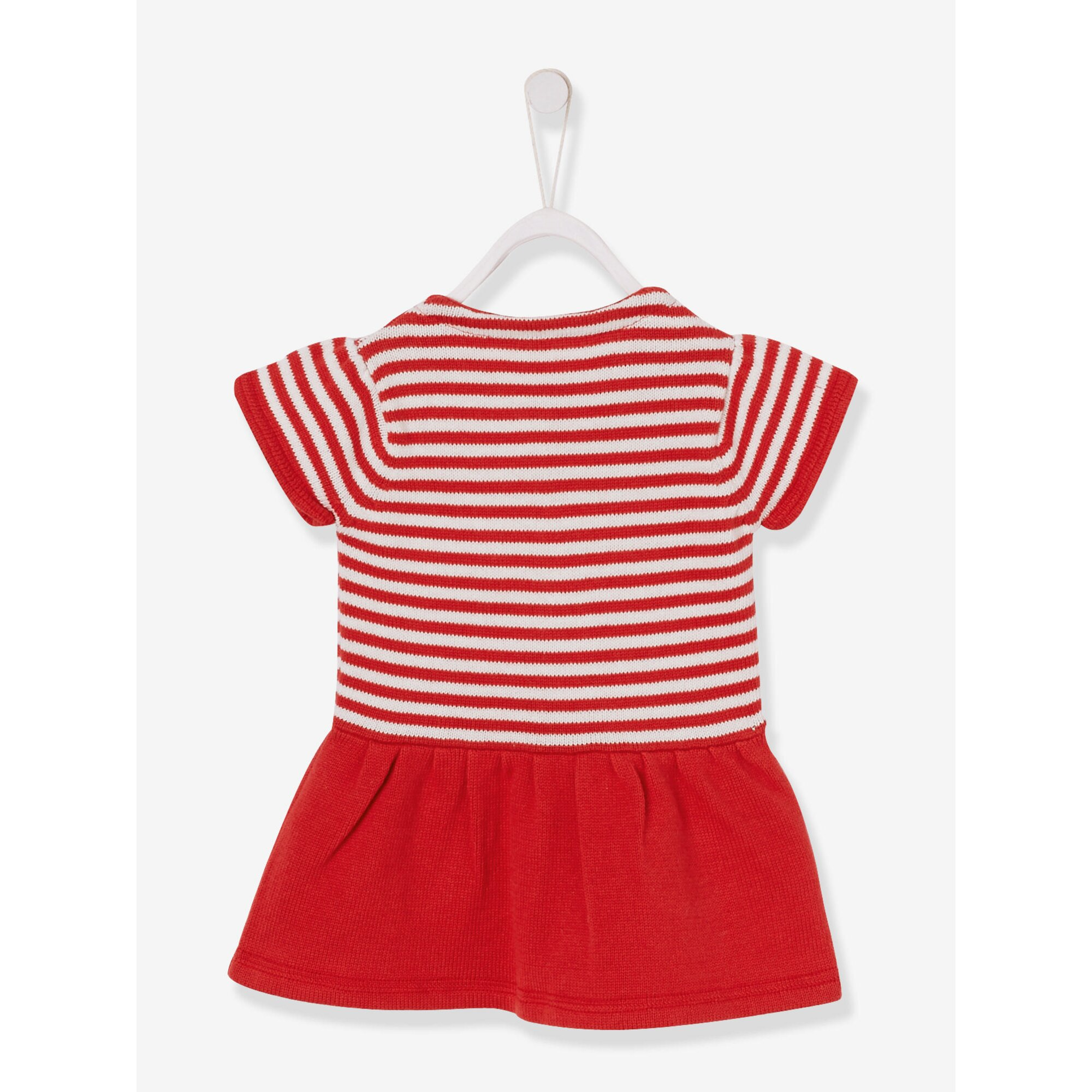 vertbaudet-baby-madchen-strickkleid, 15.99 EUR @ babywalz-de