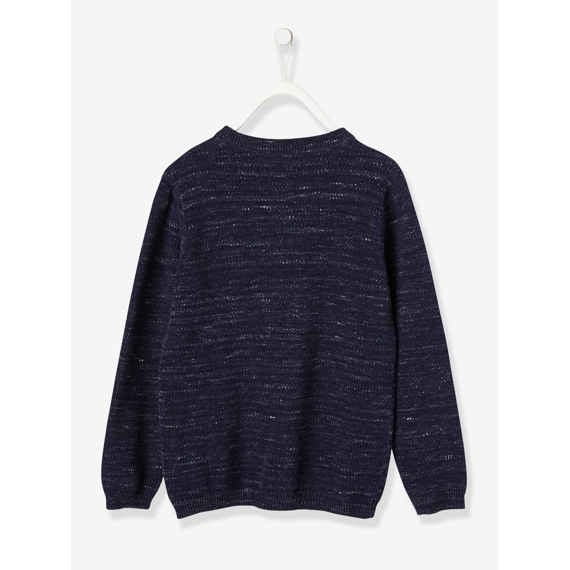 vertbaudet-jungen-henley-pullover-baumwolle, 23.99 EUR @ babywalz-de