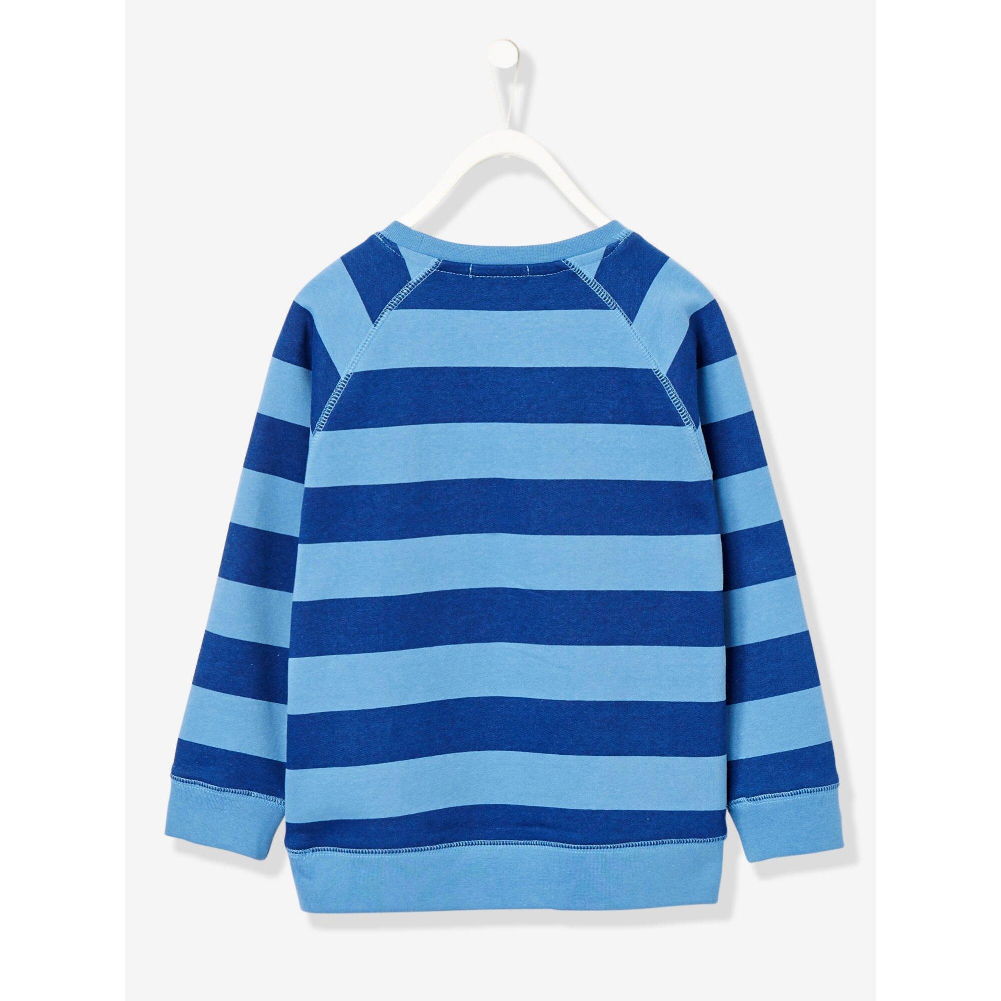 vertbaudet-sweatshirt-fur-jungen-gestreift, 18.99 EUR @ babywalz-de