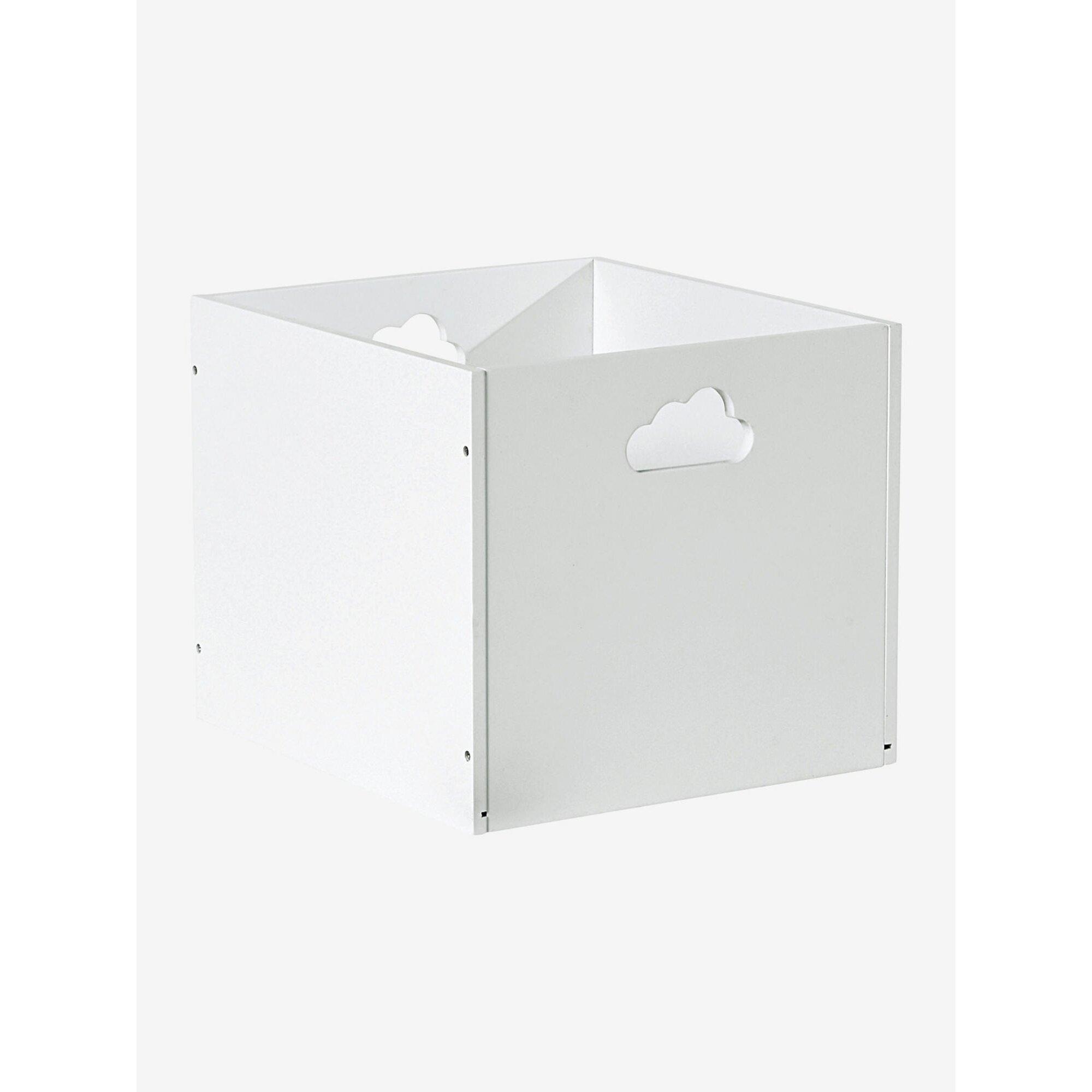 vertbaudet-holz-aufbewahrungsbox-mit-wolken-griffen, 18.99 EUR @ babywalz-de