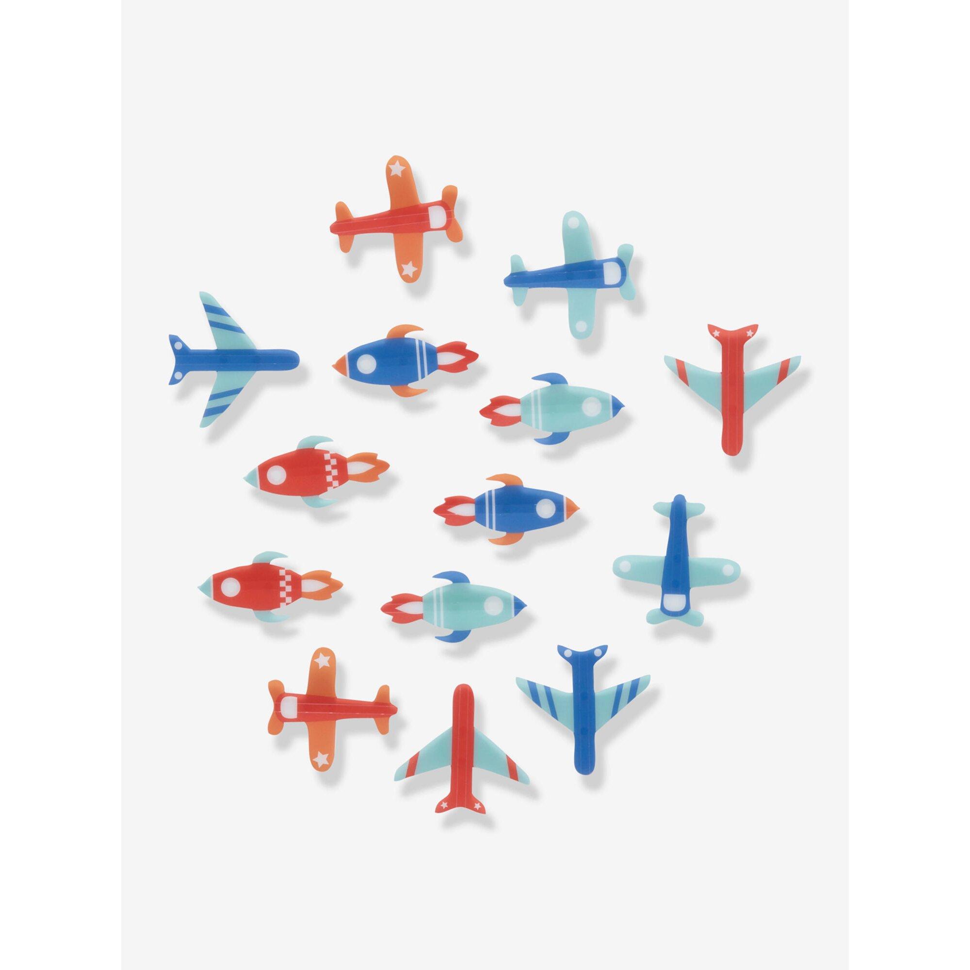 vertbaudet-14er-set-deko-flugzeuge, 14.99 EUR @ babywalz-de
