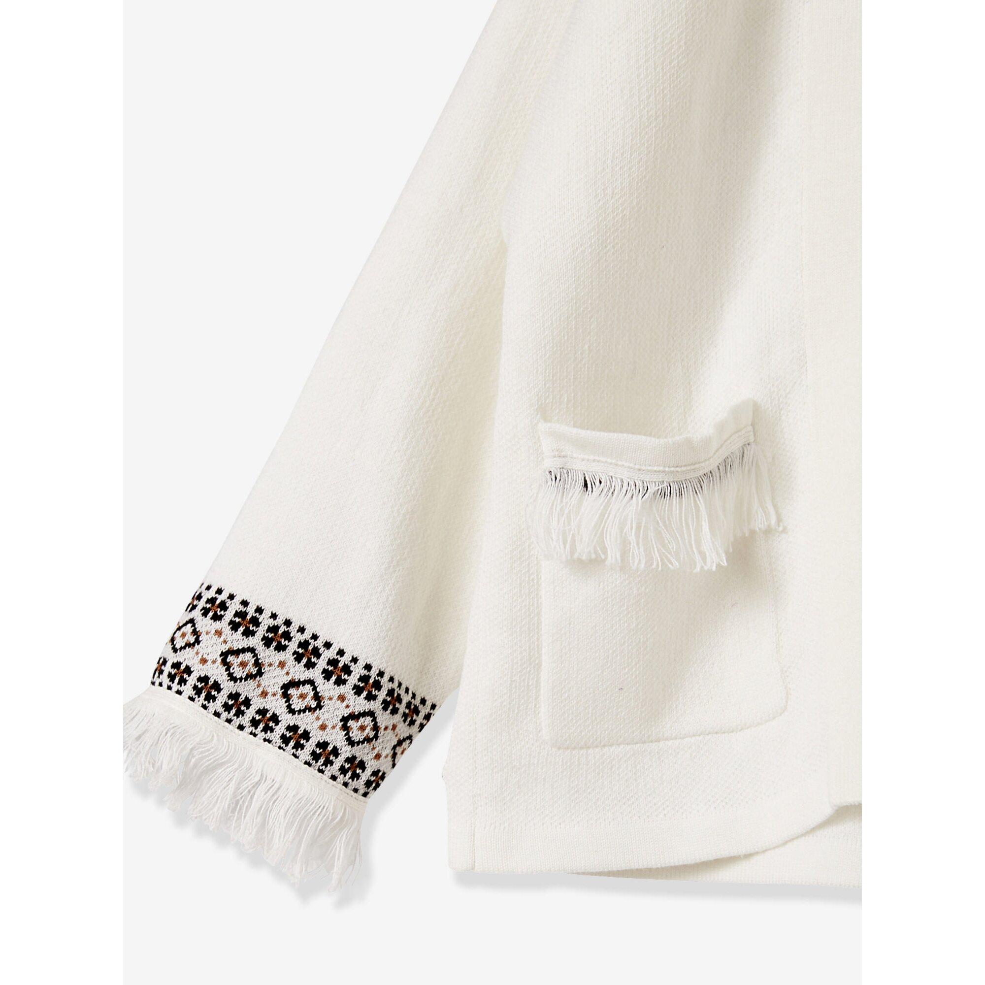 vertbaudet-madchen-cardigan-mit-fransen-ethno-look