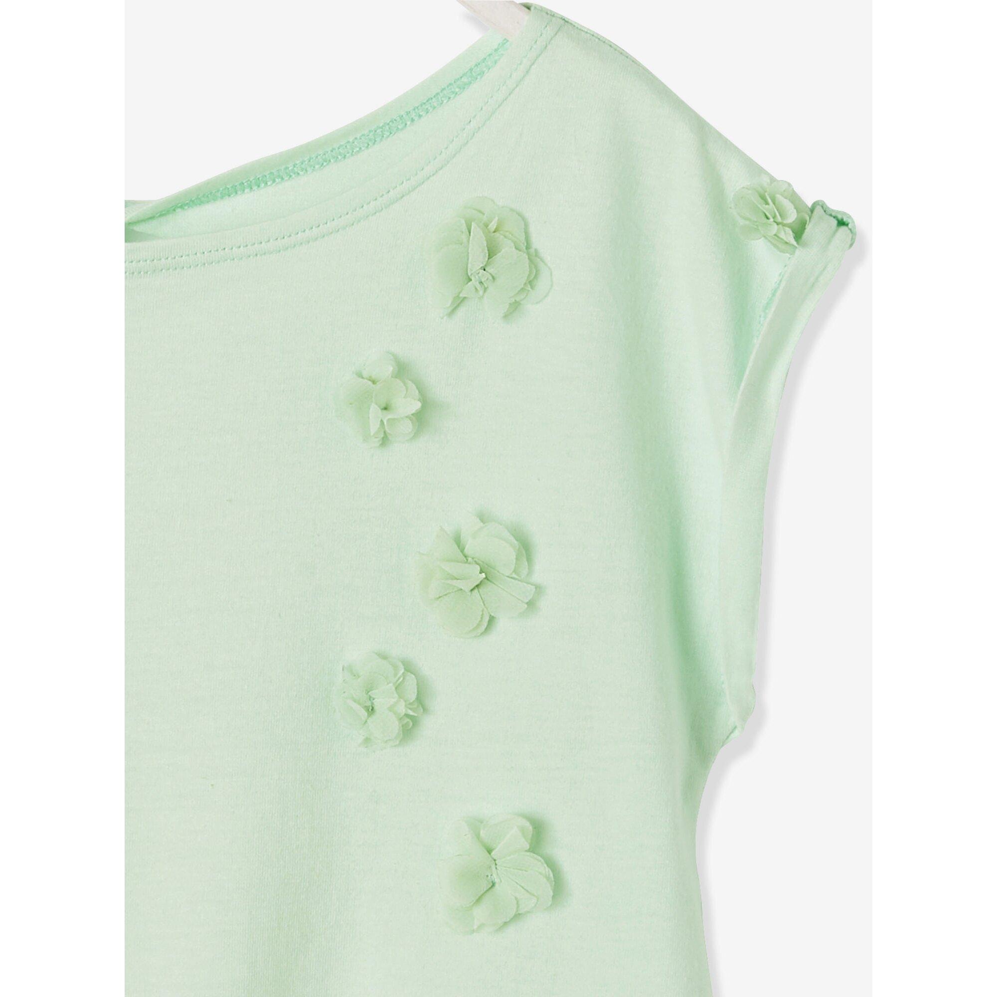 vertbaudet-madchen-t-shirt-blumenapplikation