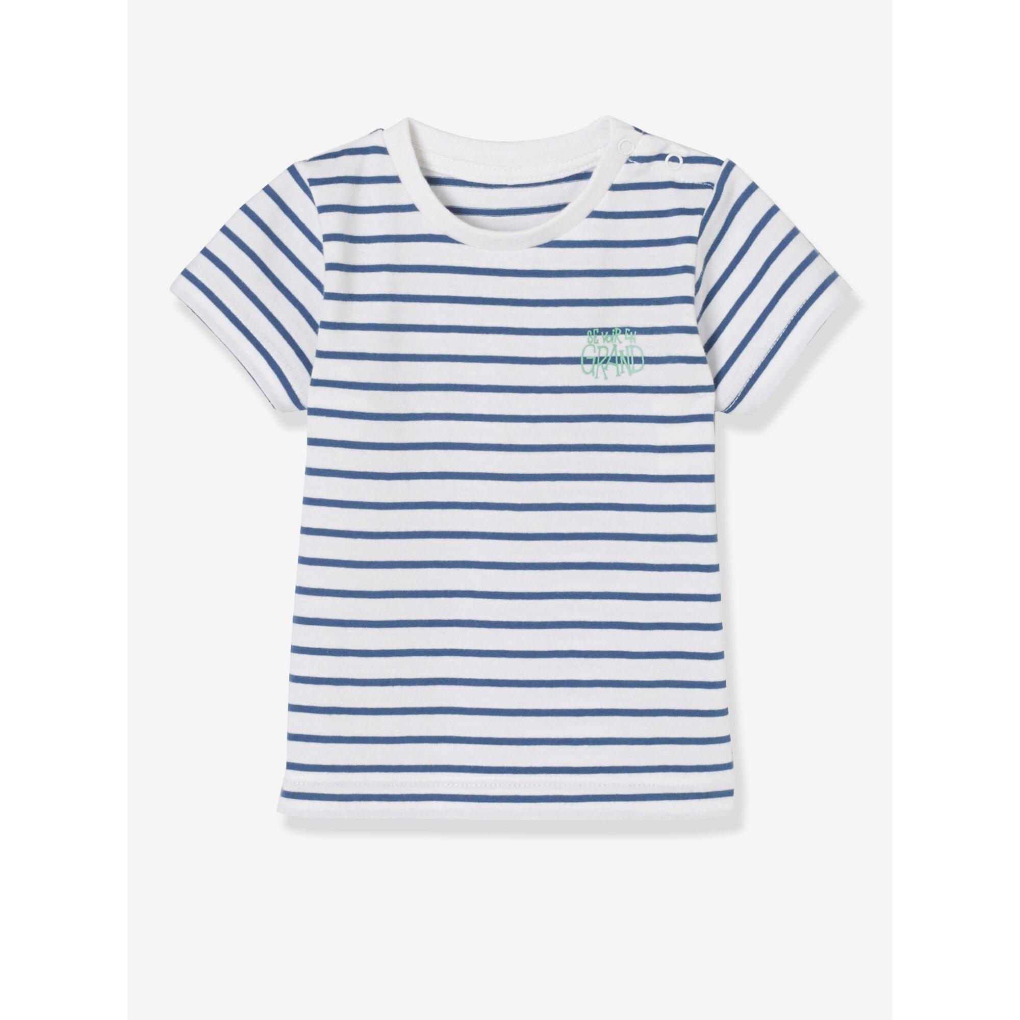 vertbaudet-2er-pack-baby-jungen-t-shirts-bedruckt