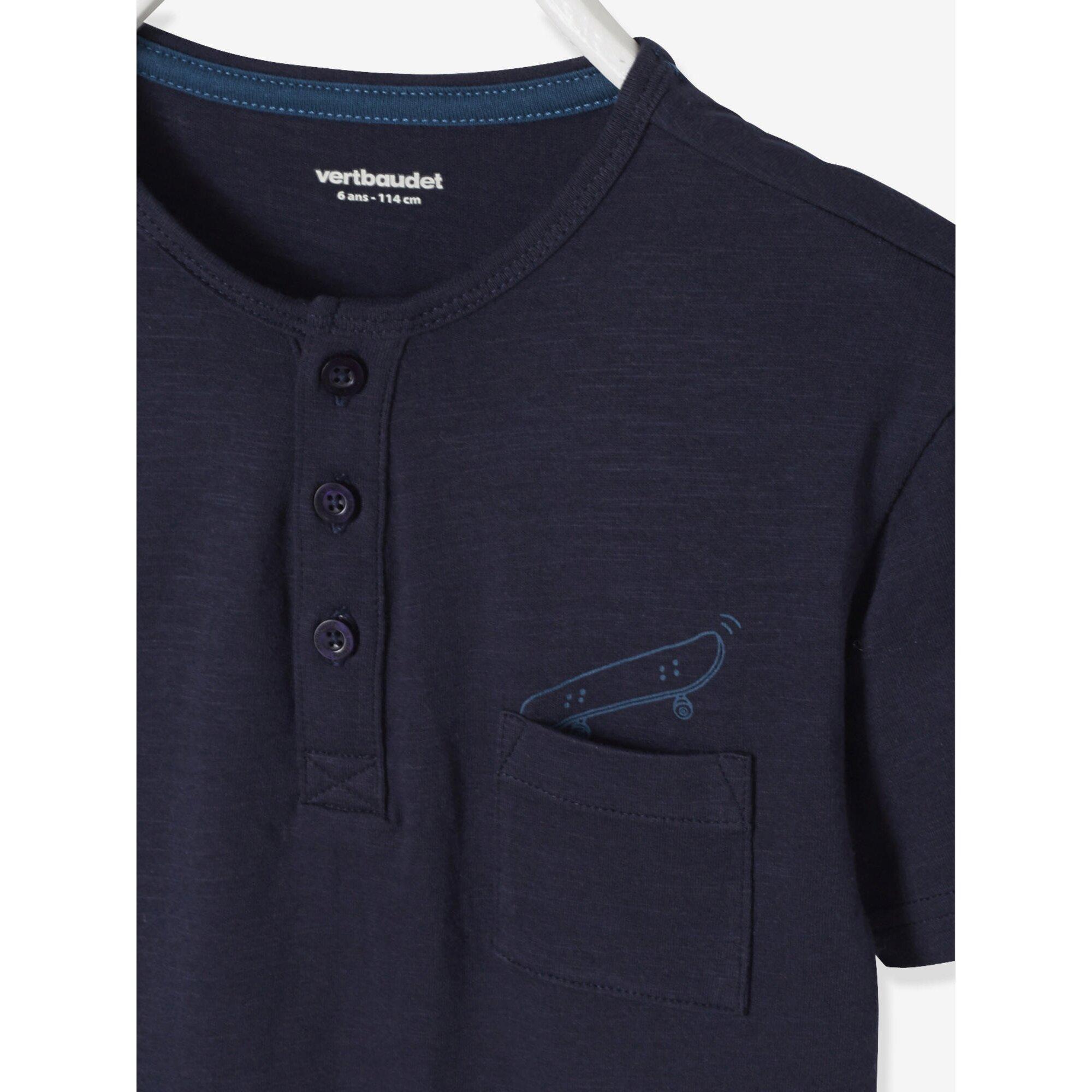 vertbaudet-t-shirt-mit-brusttasche-bedruckt