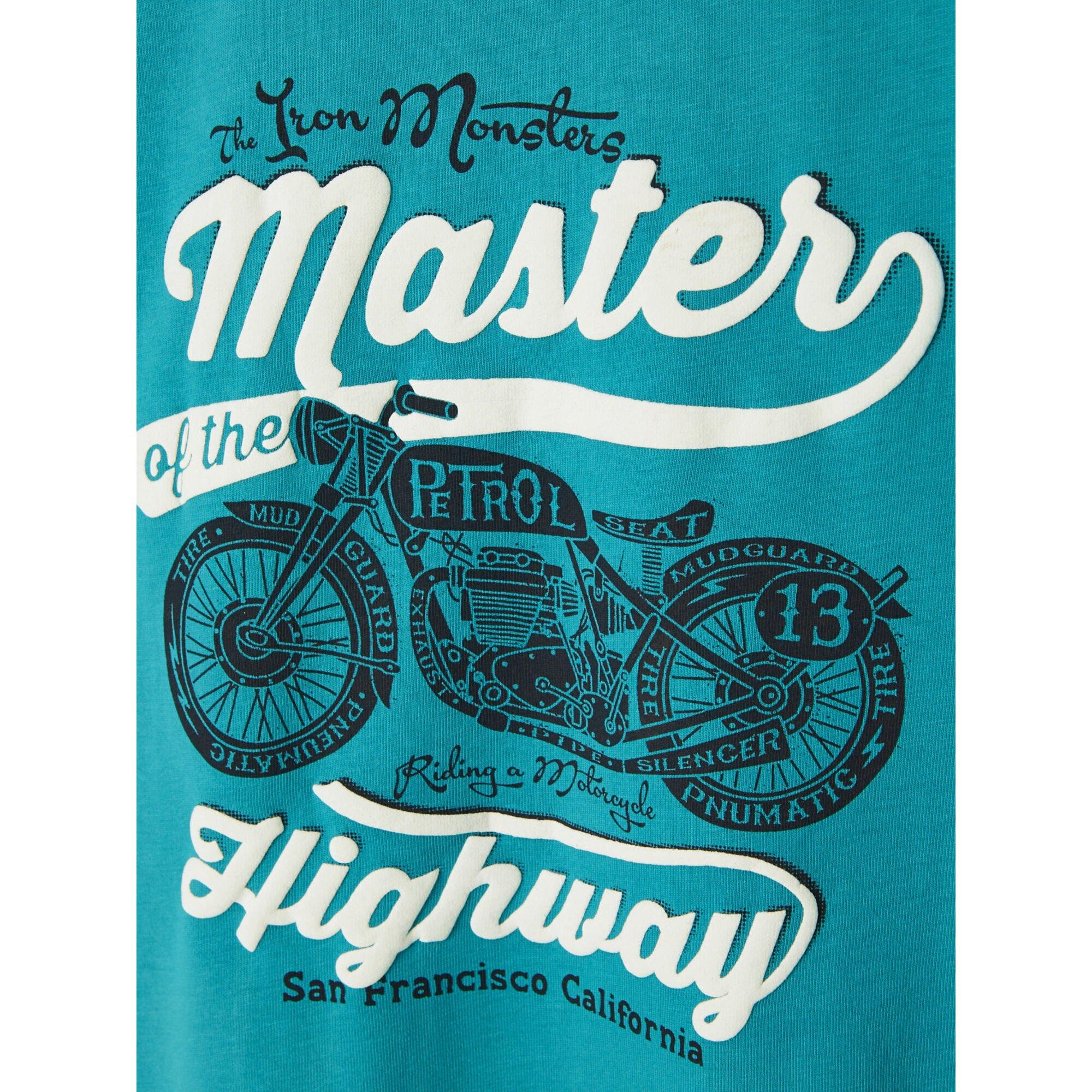 vertbaudet-t-shirt-fur-jungen-motorrad, 8.09 EUR @ babywalz-de