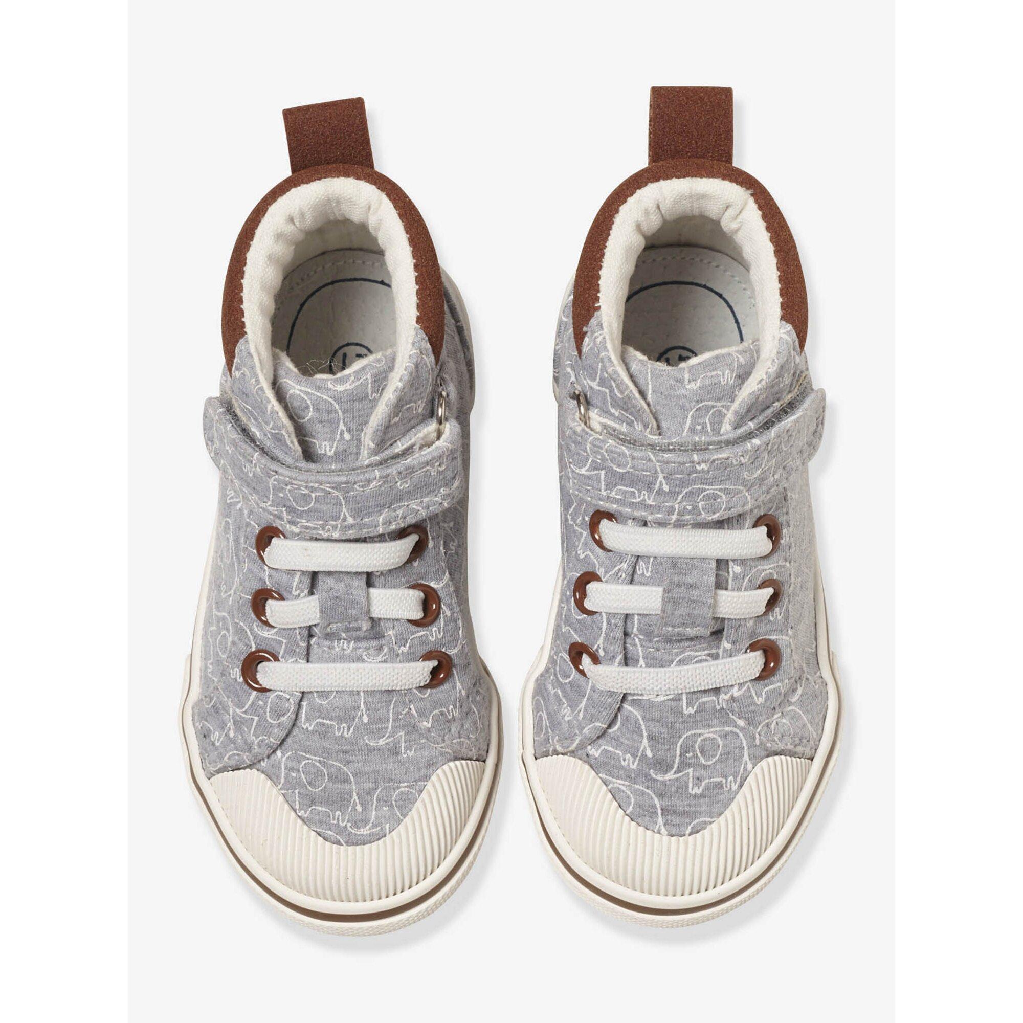 Vertbaudet Sneakers für Baby Jungen, Elefant