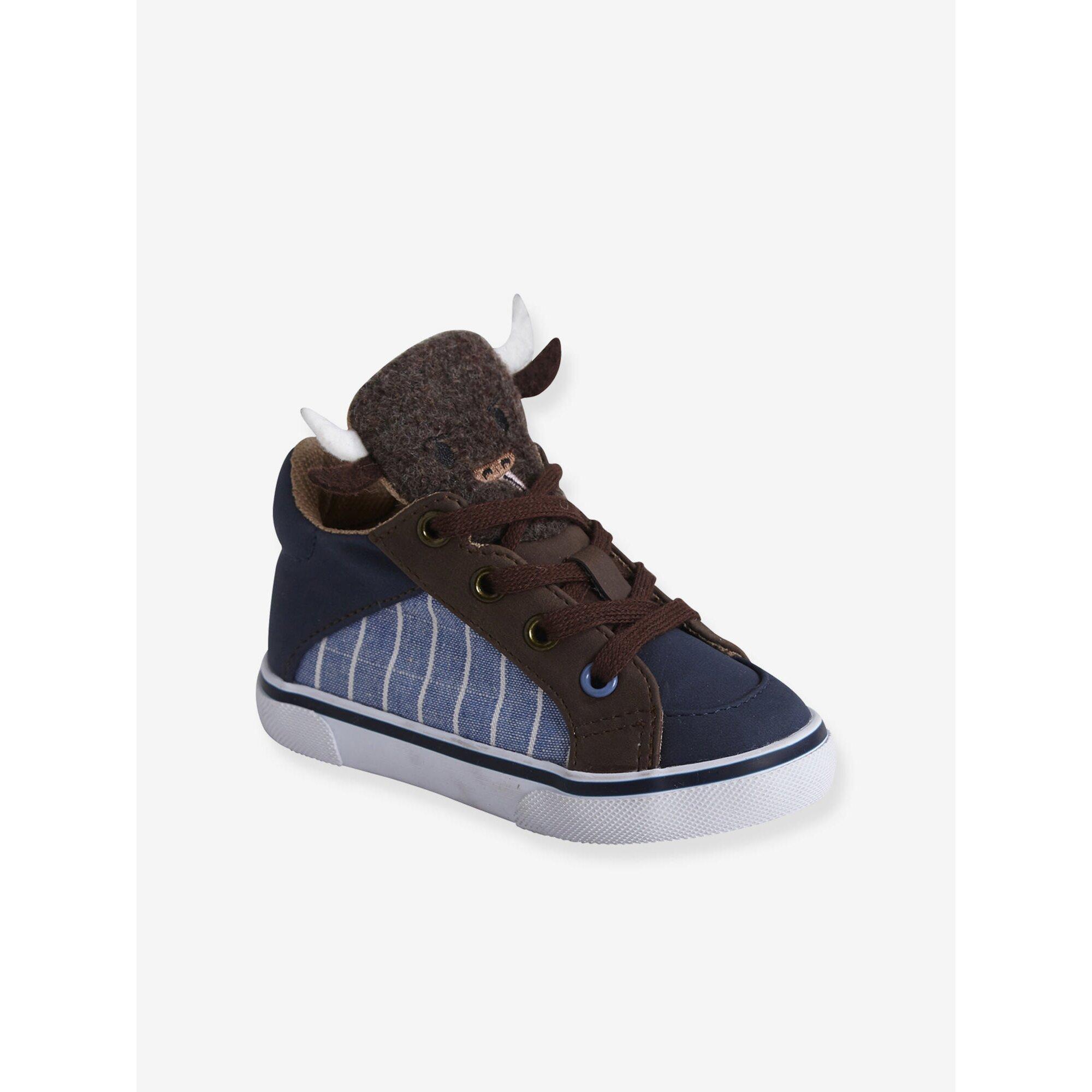 Vertbaudet Mid High Sneakers für Baby Jungen
