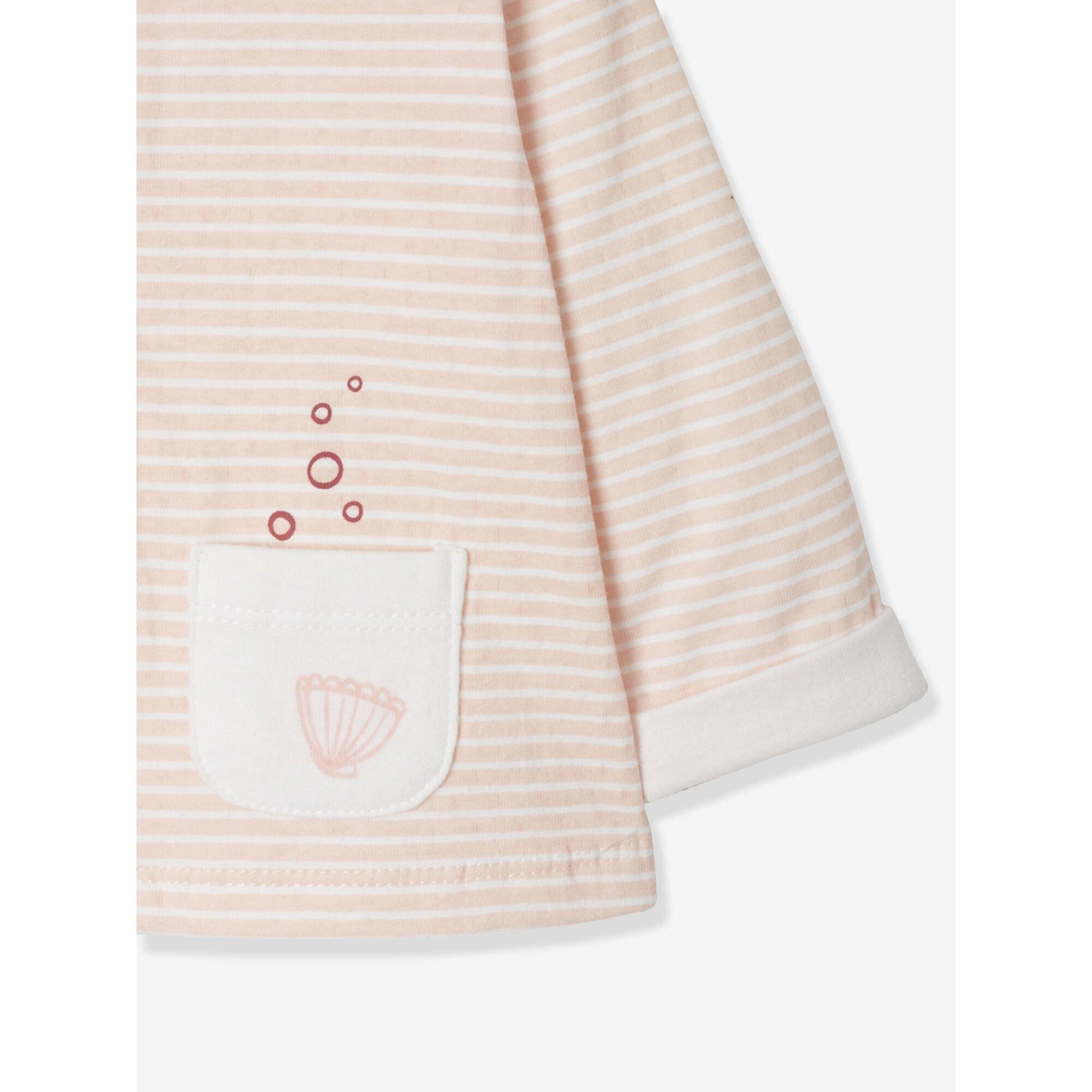 vertbaudet-baby-set-aus-cardigan-und-hose-gestreift