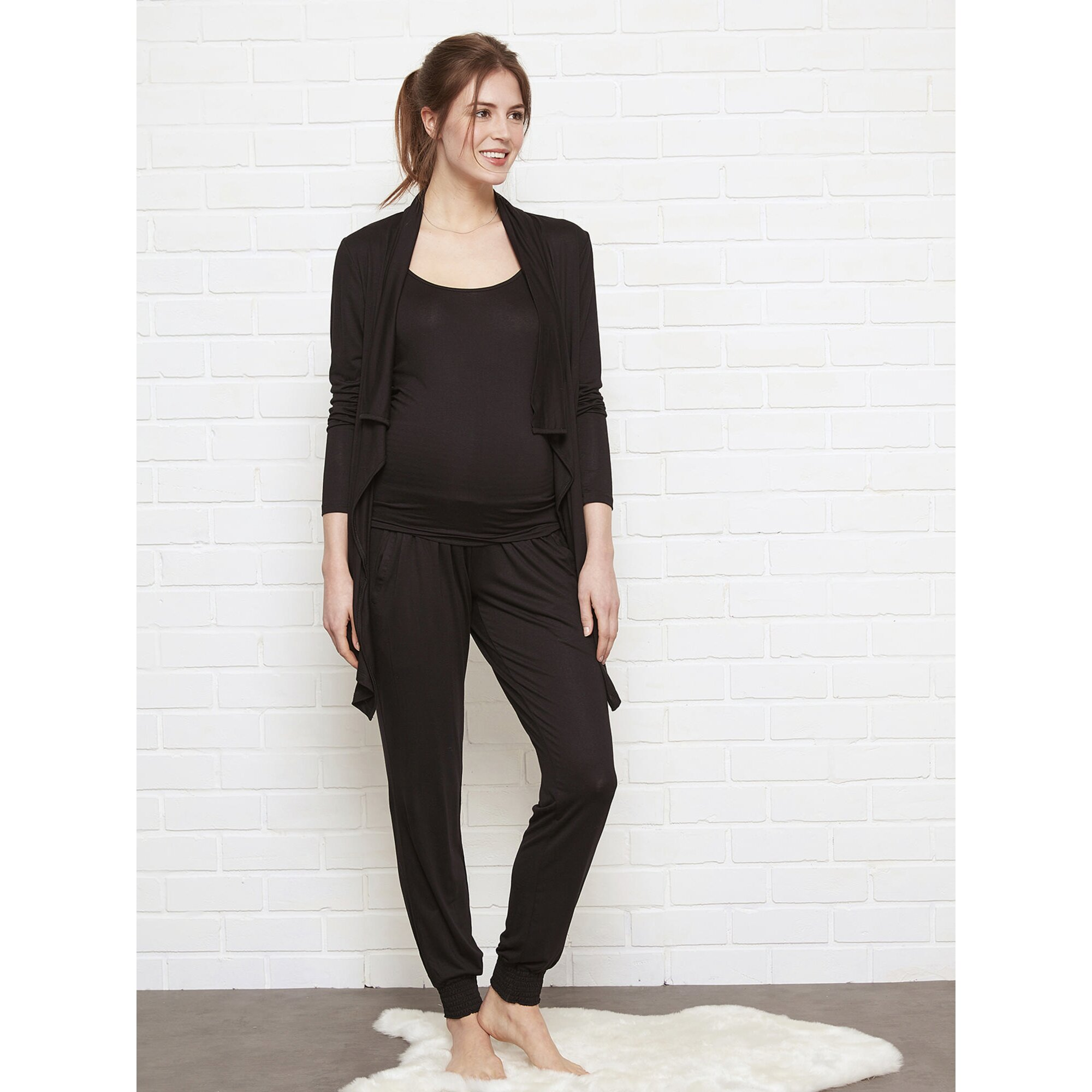 vertbaudet-homewear-set-schwangerschaft-und-stillzeit, 50.99 EUR @ babywalz-de