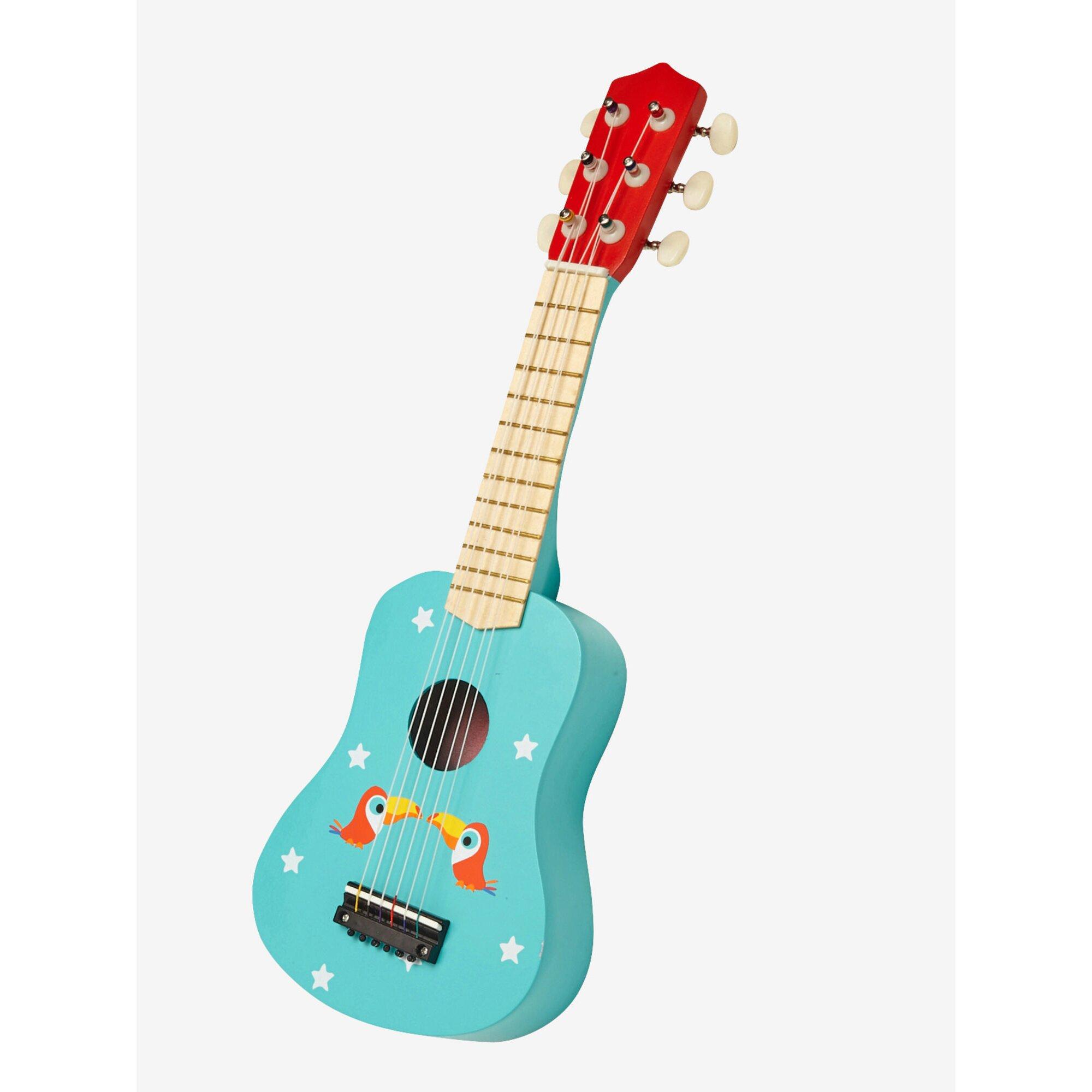 vertbaudet-kinder-gitarre-holz, 20.99 EUR @ babywalz-de