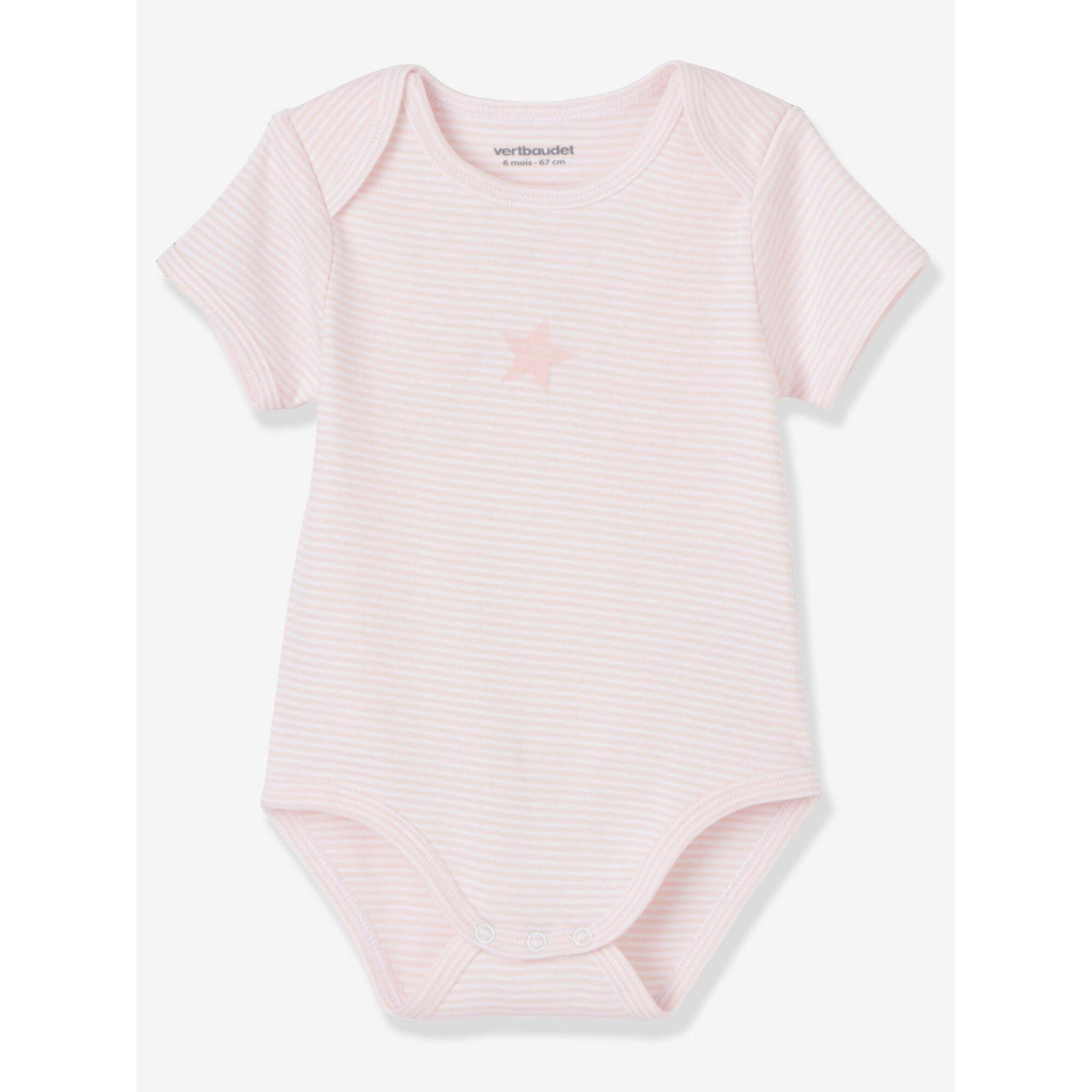 vertbaudet-3er-pack-bodys-fur-babys-kurze-armel, 15.99 EUR @ babywalz-de