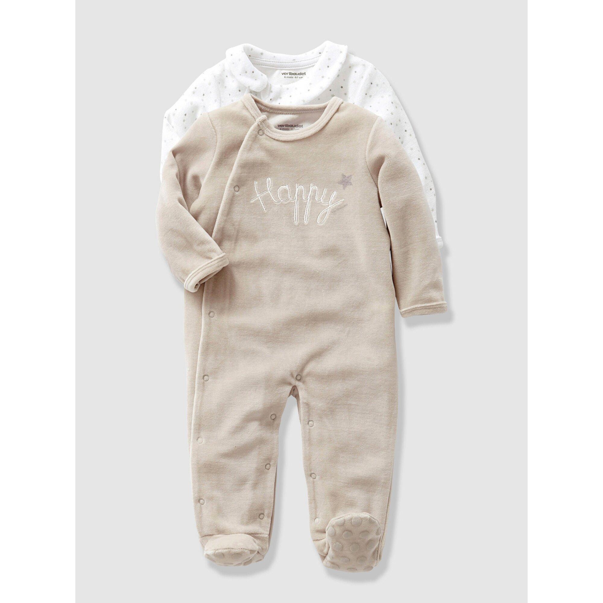 vertbaudet-2er-pack-unisex-strampler-fur-babys, 25.99 EUR @ babywalz-de