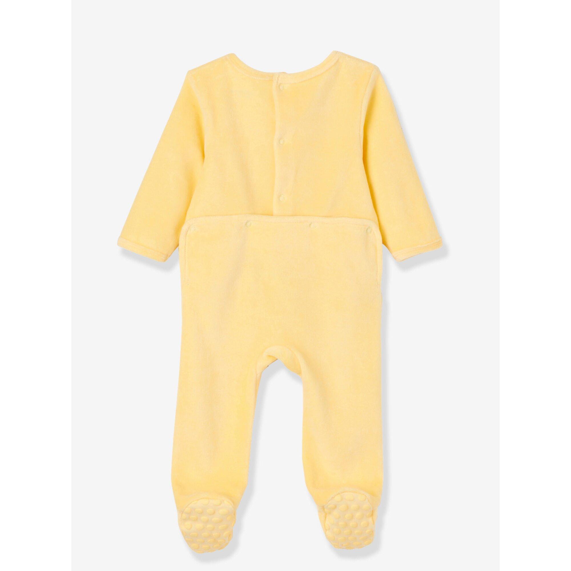 vertbaudet-3er-pack-samtstrampler-fur-babys