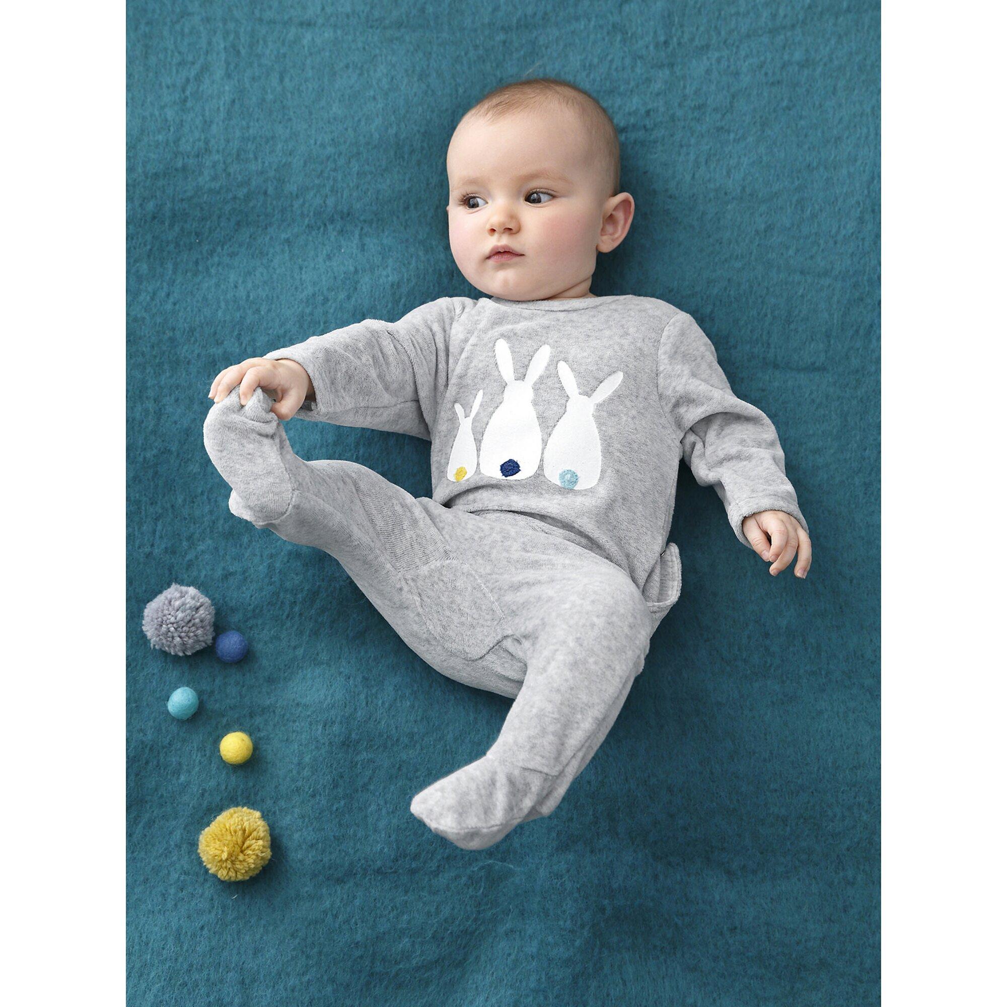 vertbaudet-samtstrampler-fur-babys, 13.99 EUR @ babywalz-de