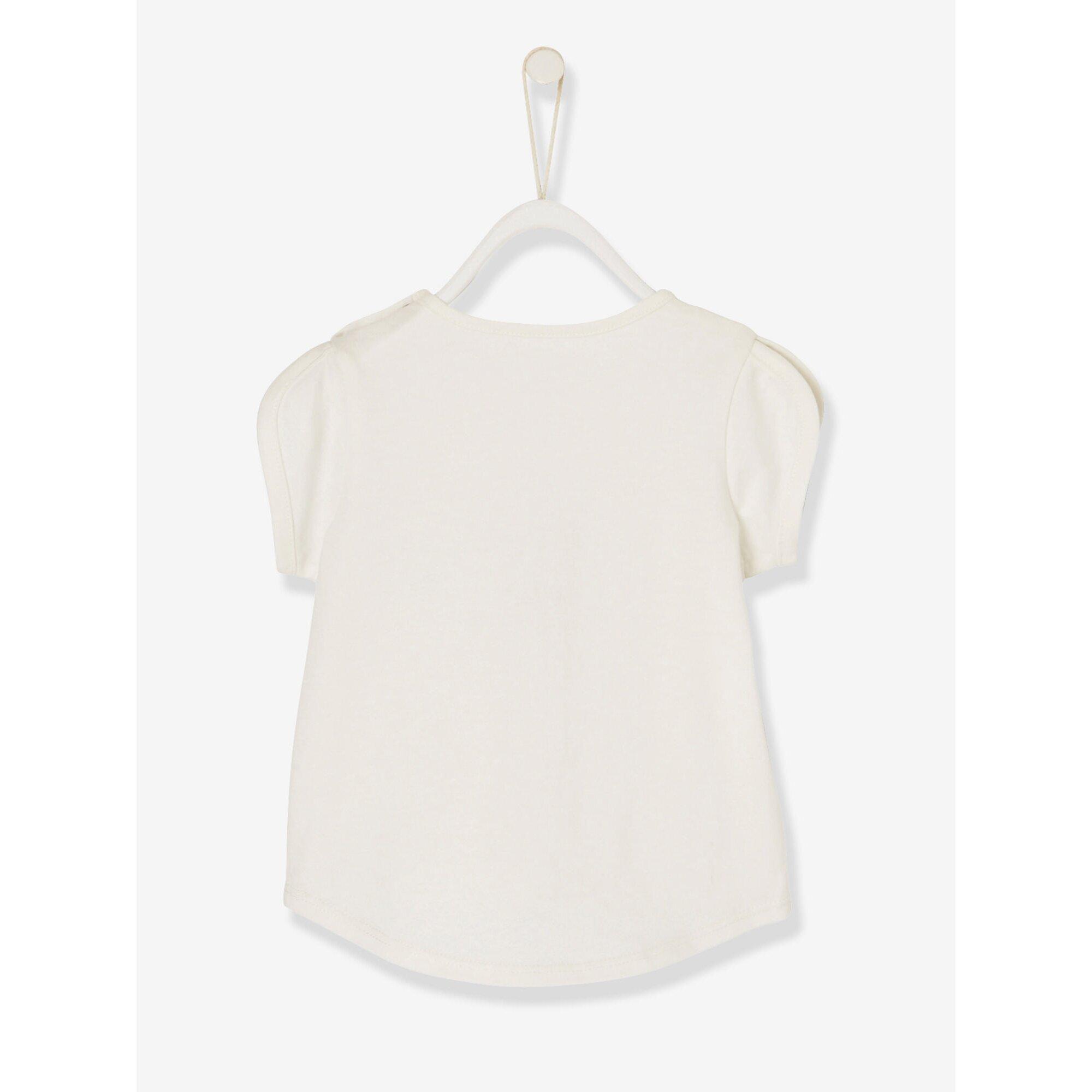 vertbaudet-baby-madchen-t-shirt-baumwolle, 8.99 EUR @ babywalz-de