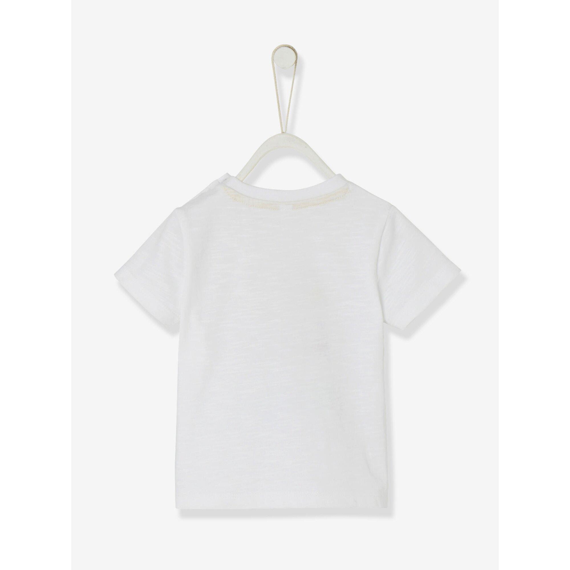 vertbaudet-baby-jungen-t-shirt-auto-print, 5.59 EUR @ babywalz-de