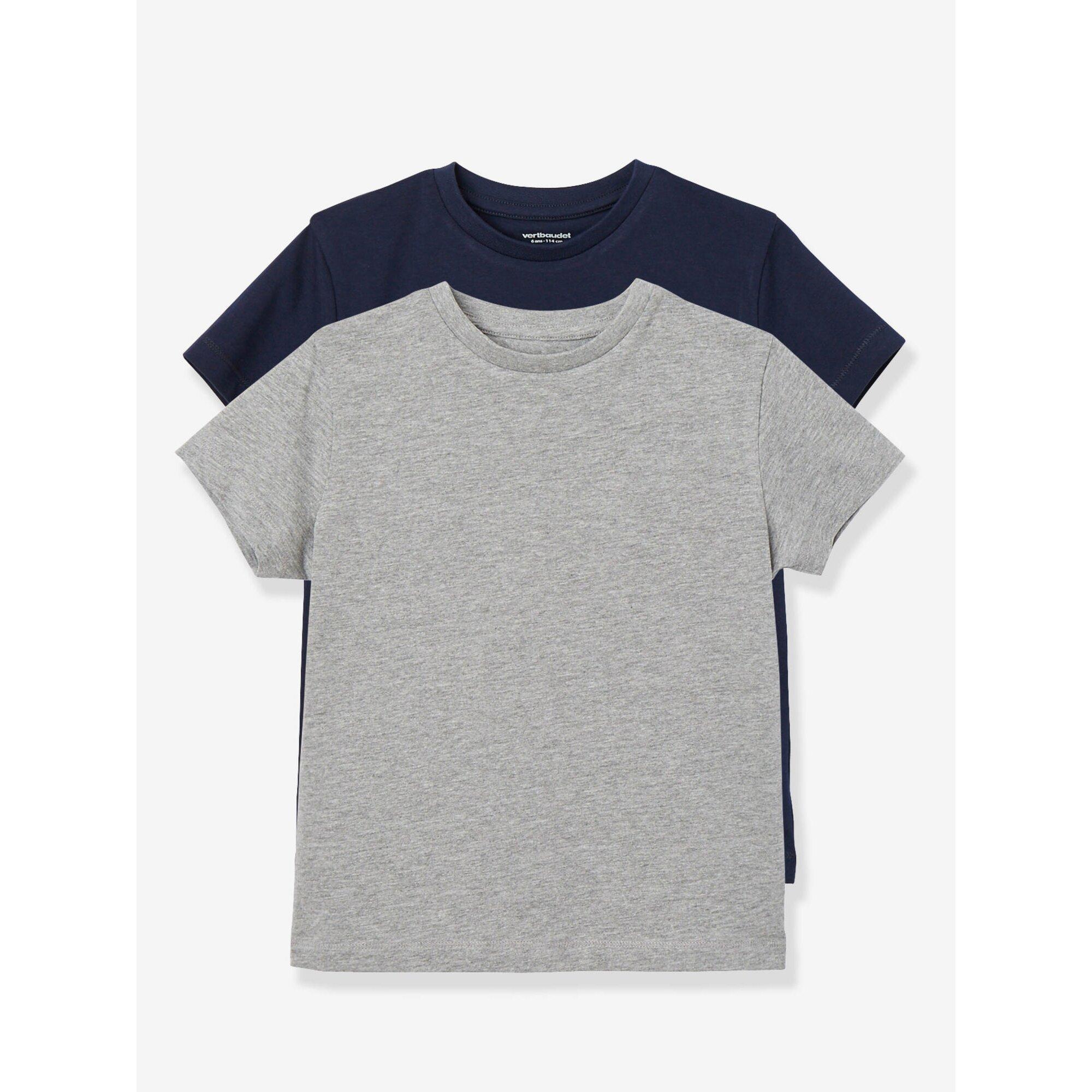 vertbaudet-2er-pack-t-shirts-fur-jungen, 8.99 EUR @ babywalz-de