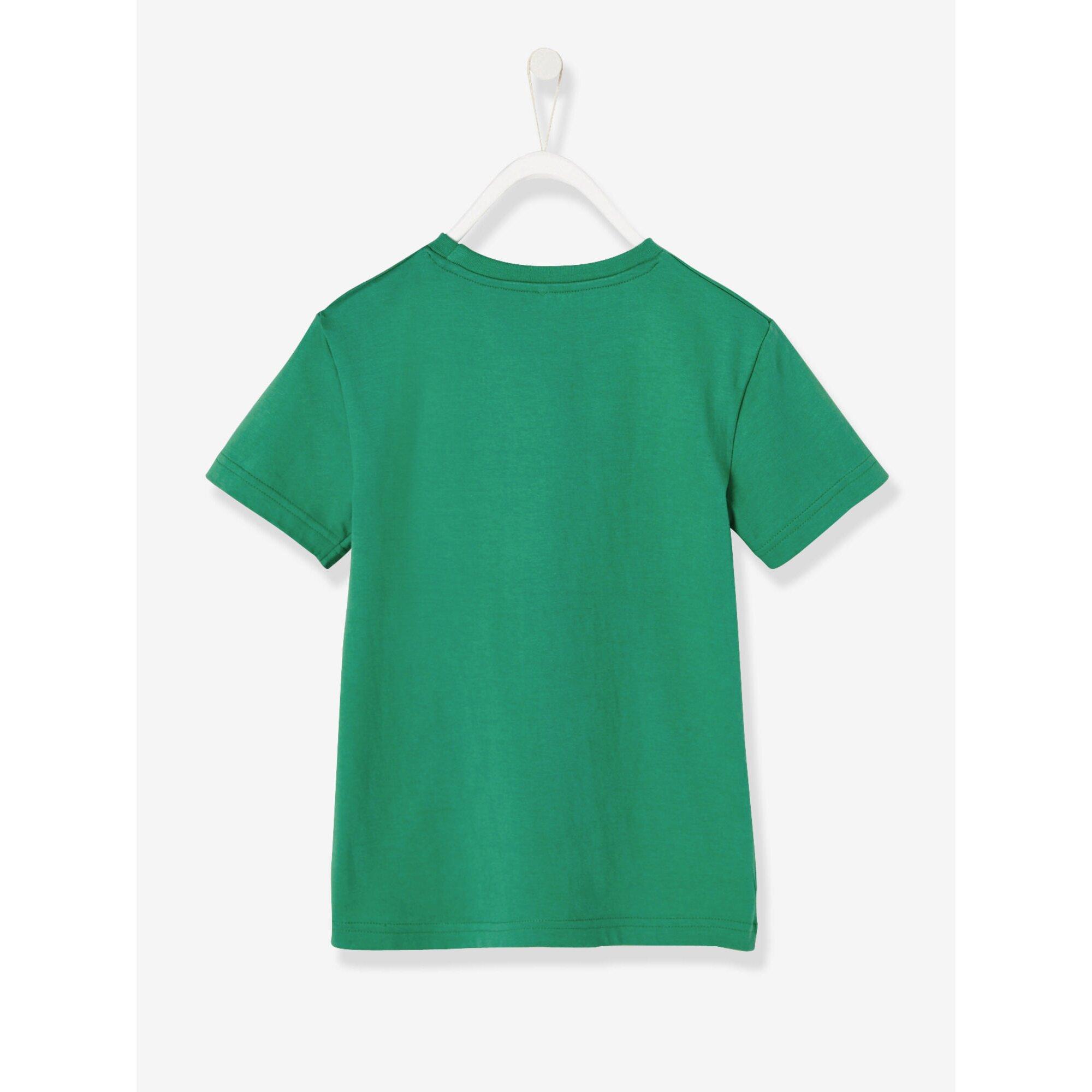 vertbaudet-t-shirt-fur-jungen-aufdruck, 10.99 EUR @ babywalz-de