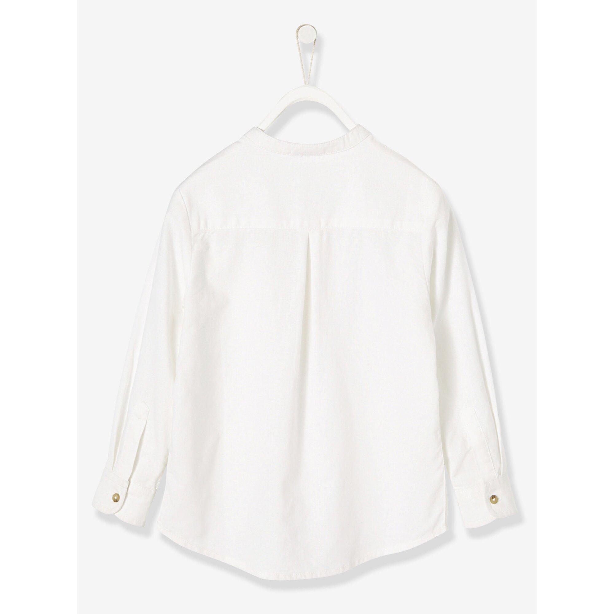 vertbaudet-festliches-jungenhemd-leinen-baumwolle, 14.69 EUR @ babywalz-de