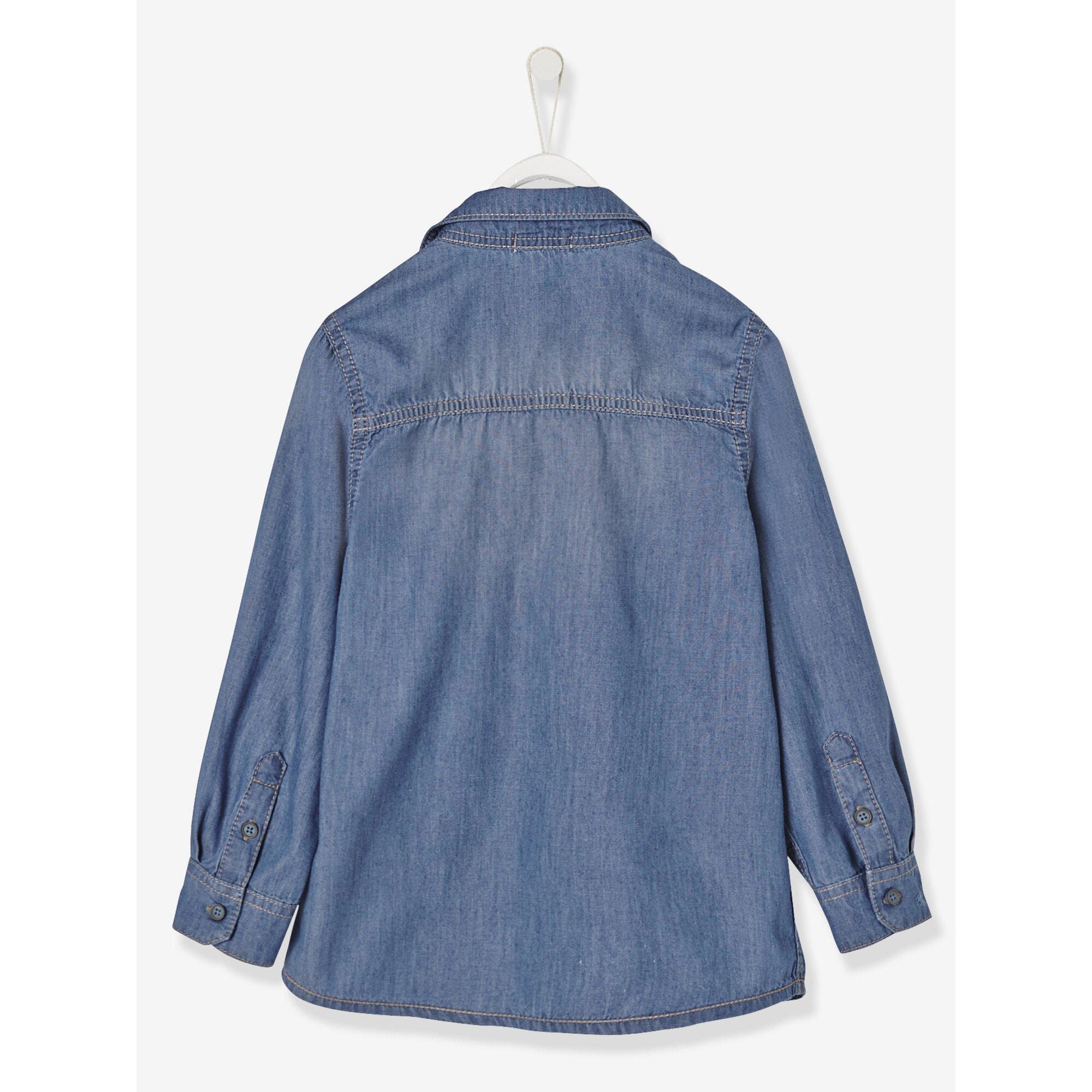 vertbaudet-jeanshemd-fur-jungen, 23.99 EUR @ babywalz-de