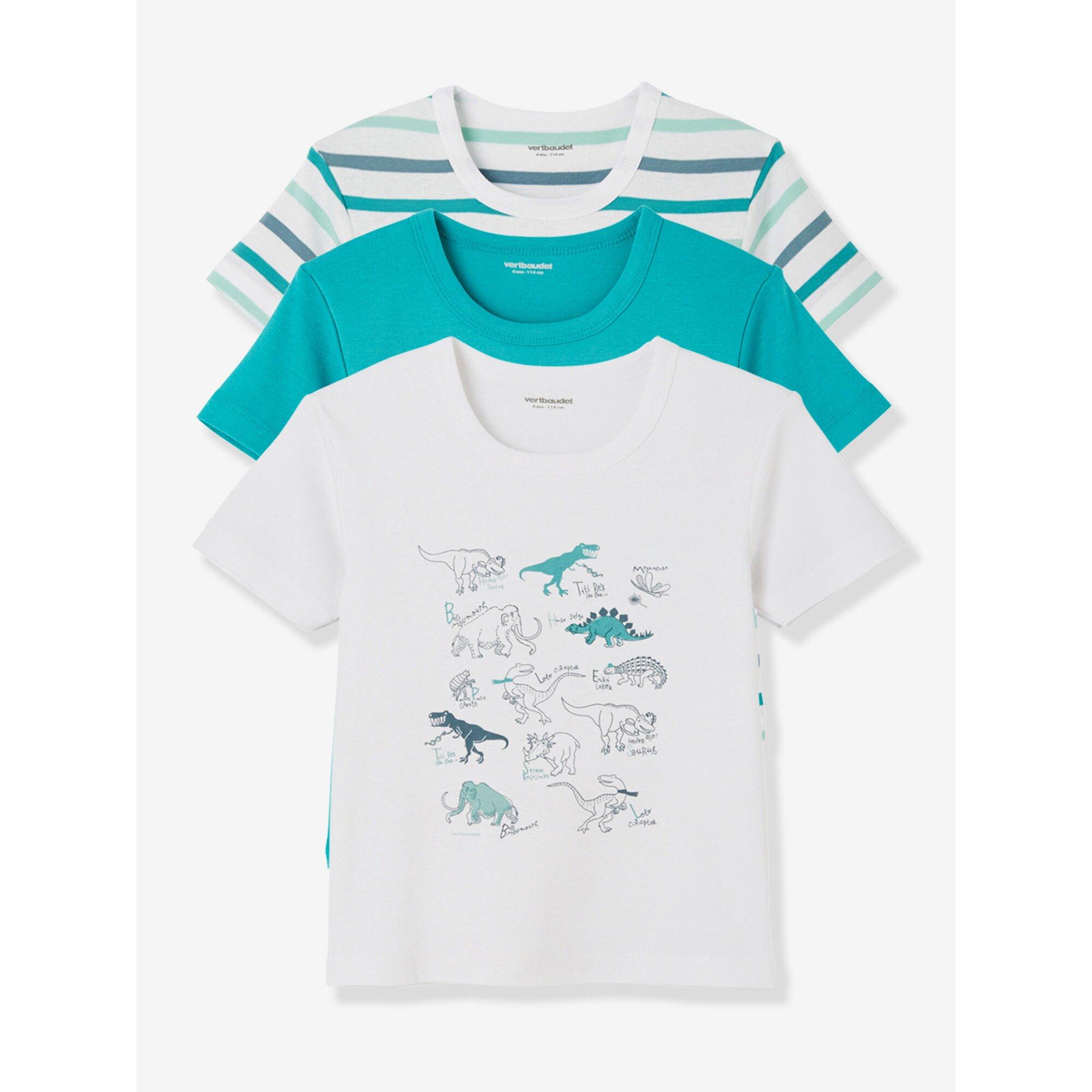 vertbaudet-3er-pack-jungen-t-shirts