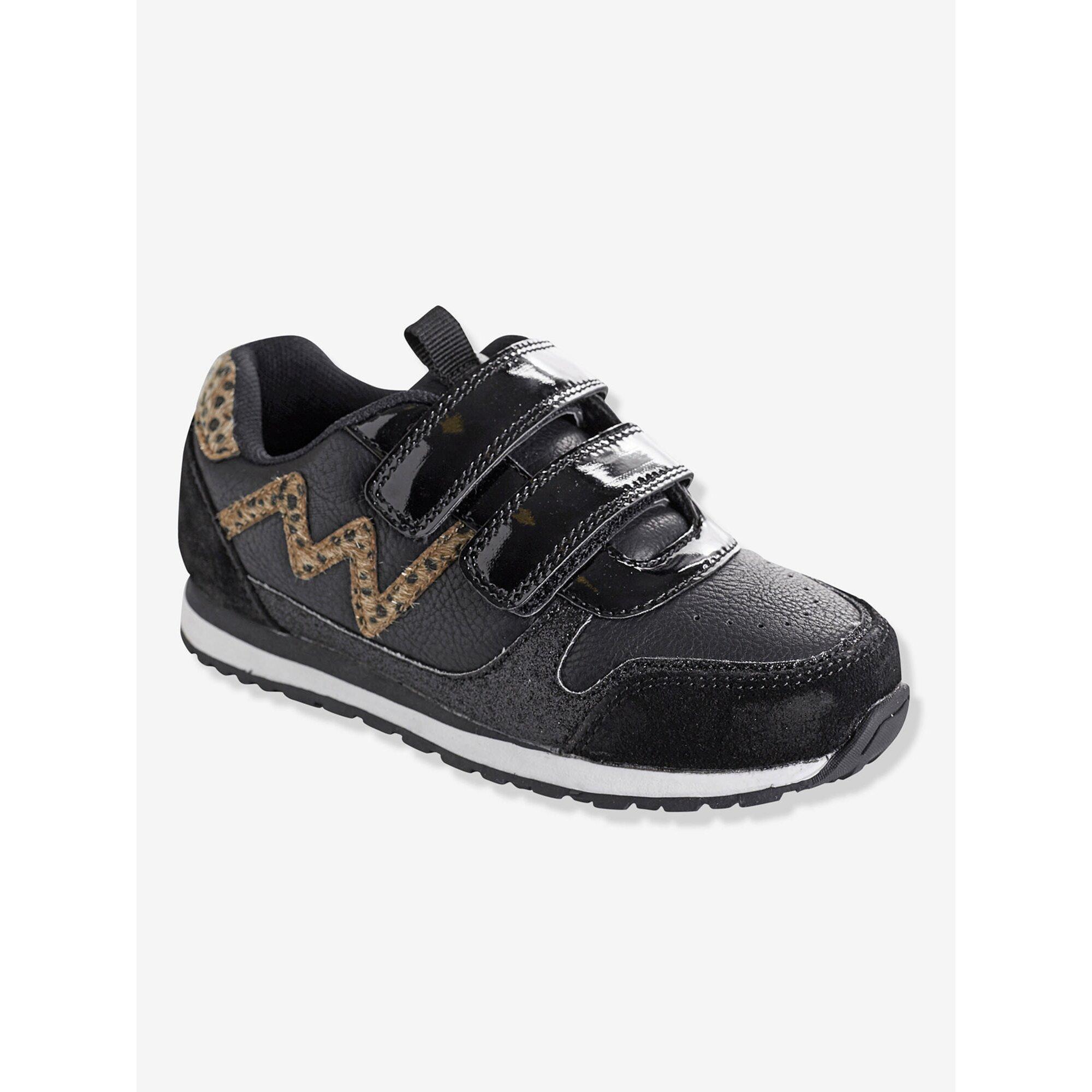 vertbaudet-klett-sneakers-fur-madchen-pailletten, 35.99 EUR @ babywalz-de