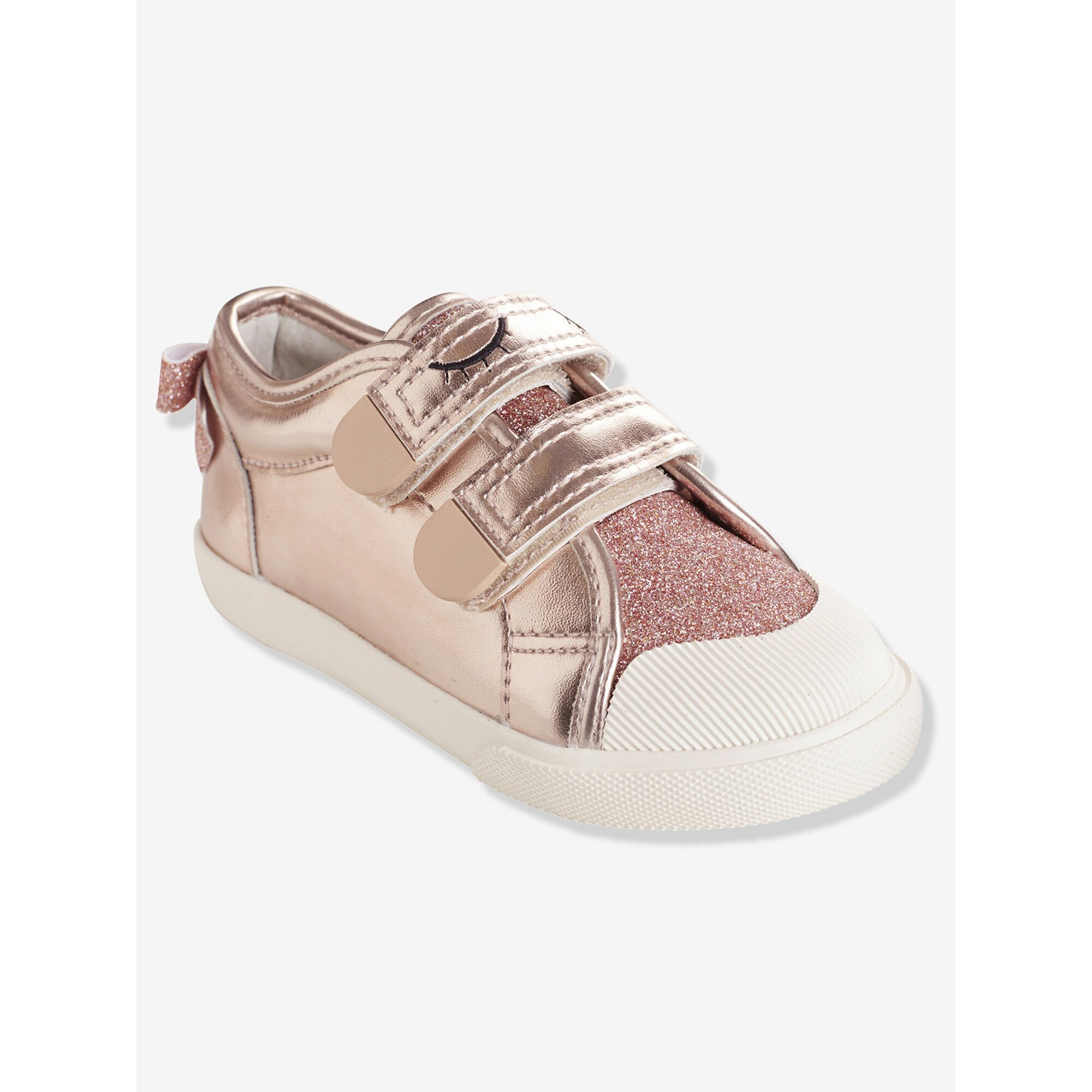 vertbaudet-klett-sneakers-madchen-anziehtrick, 35.99 EUR @ babywalz-de