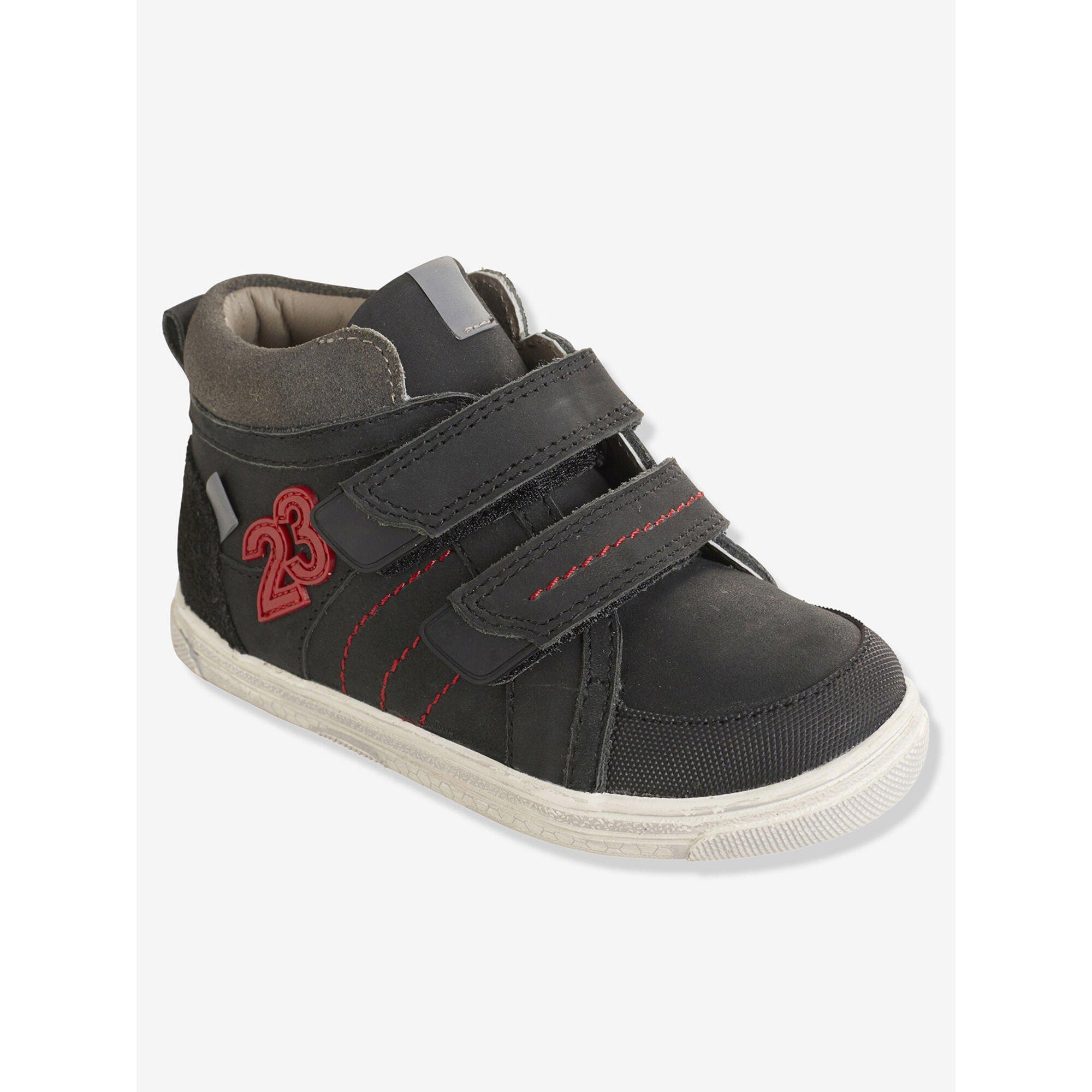 vertbaudet-leder-sneakers-fur-jungen-anziehtrick, 50.99 EUR @ babywalz-de