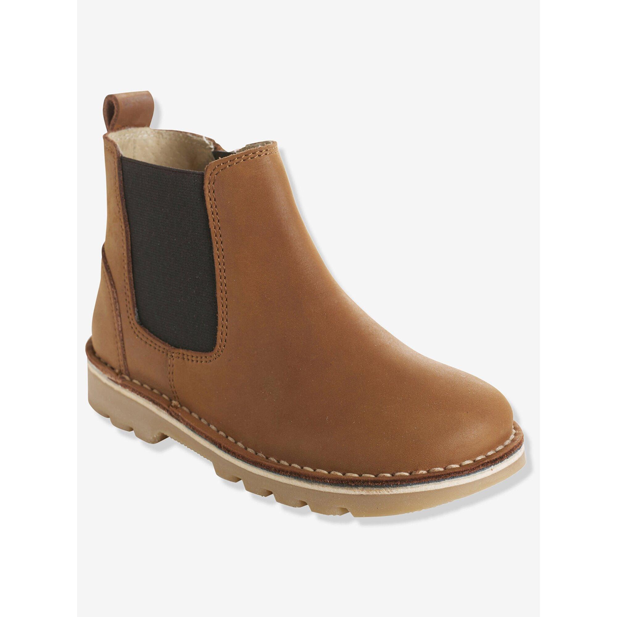vertbaudet-leder-boots-jungen-rei-verschluss, 55.99 EUR @ babywalz-de