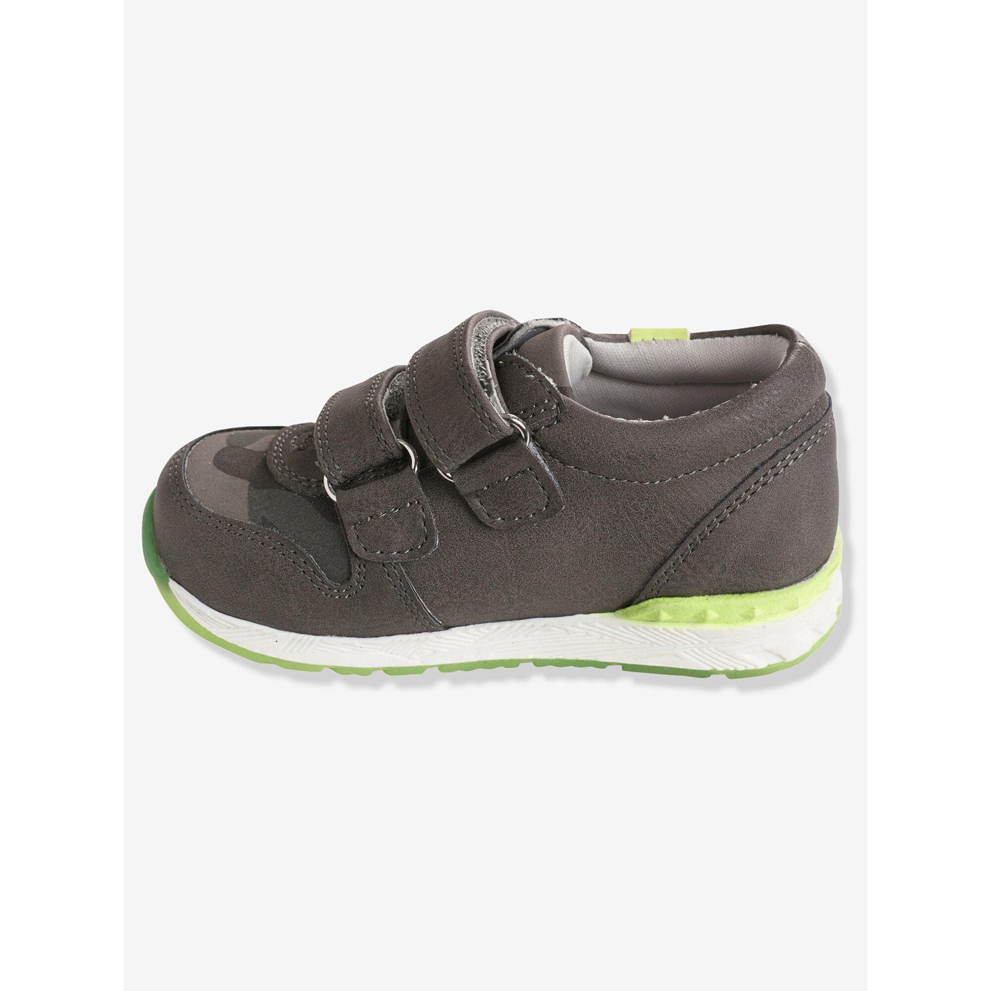 vertbaudet-sneakers-fur-jungen-neonstreifen, 30.99 EUR @ babywalz-de