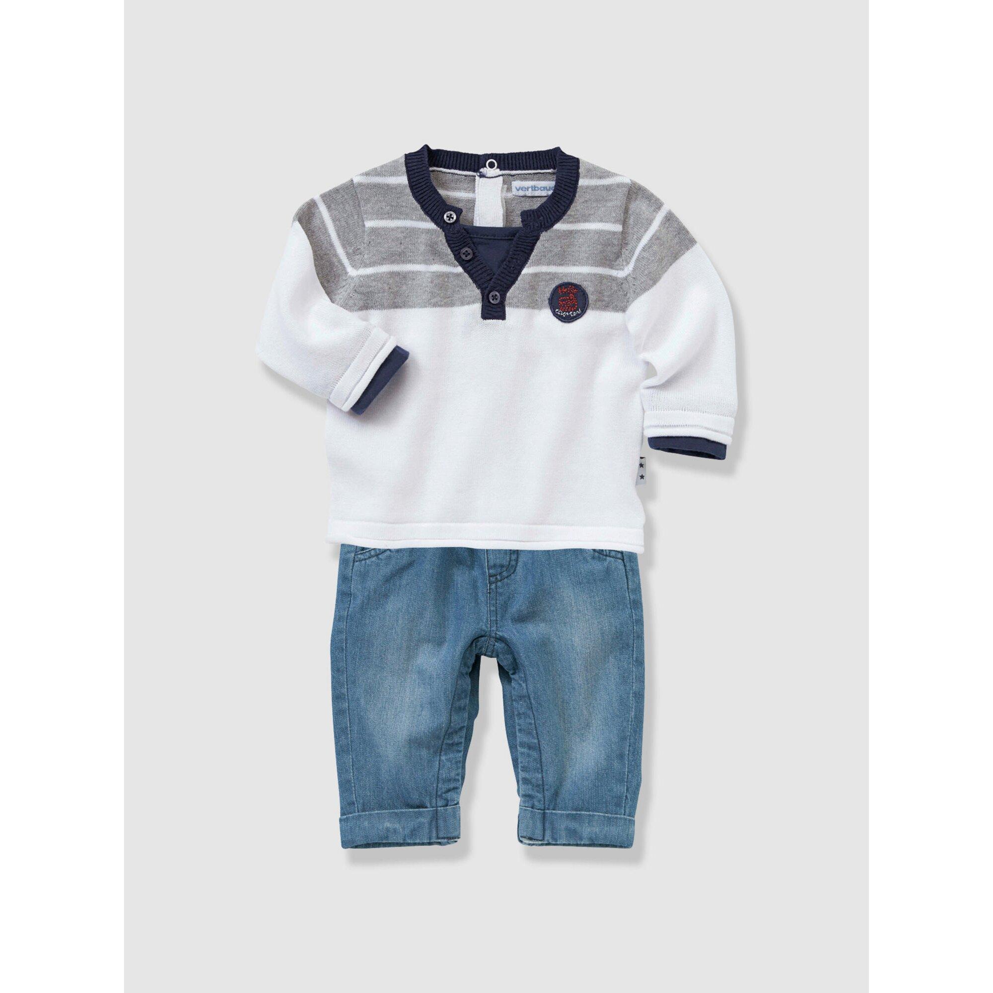 vertbaudet-jungenset-aus-baby-pullover-und-jeans