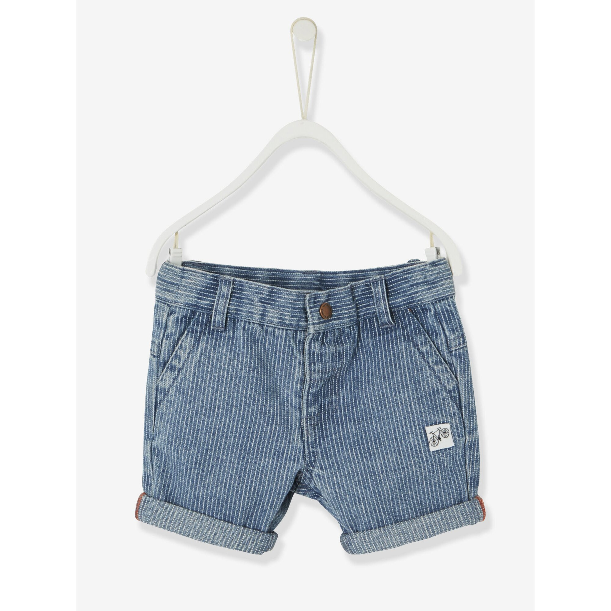 vertbaudet-cap-t-shirt-und-bermudas-baby-jungen, 19.59 EUR @ babywalz-de