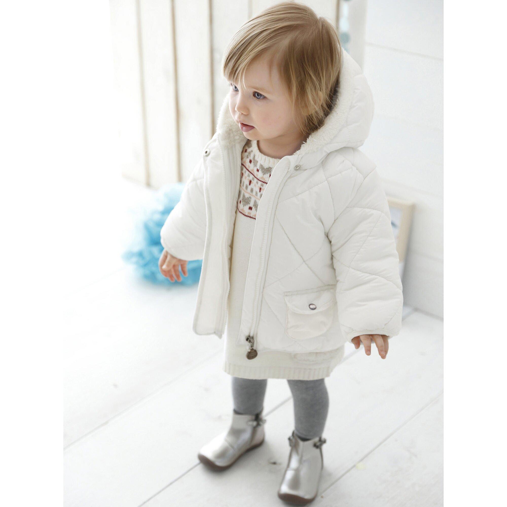 vertbaudet-baby-madchen-steppjacke-mit-kapuze, 40.99 EUR @ babywalz-de