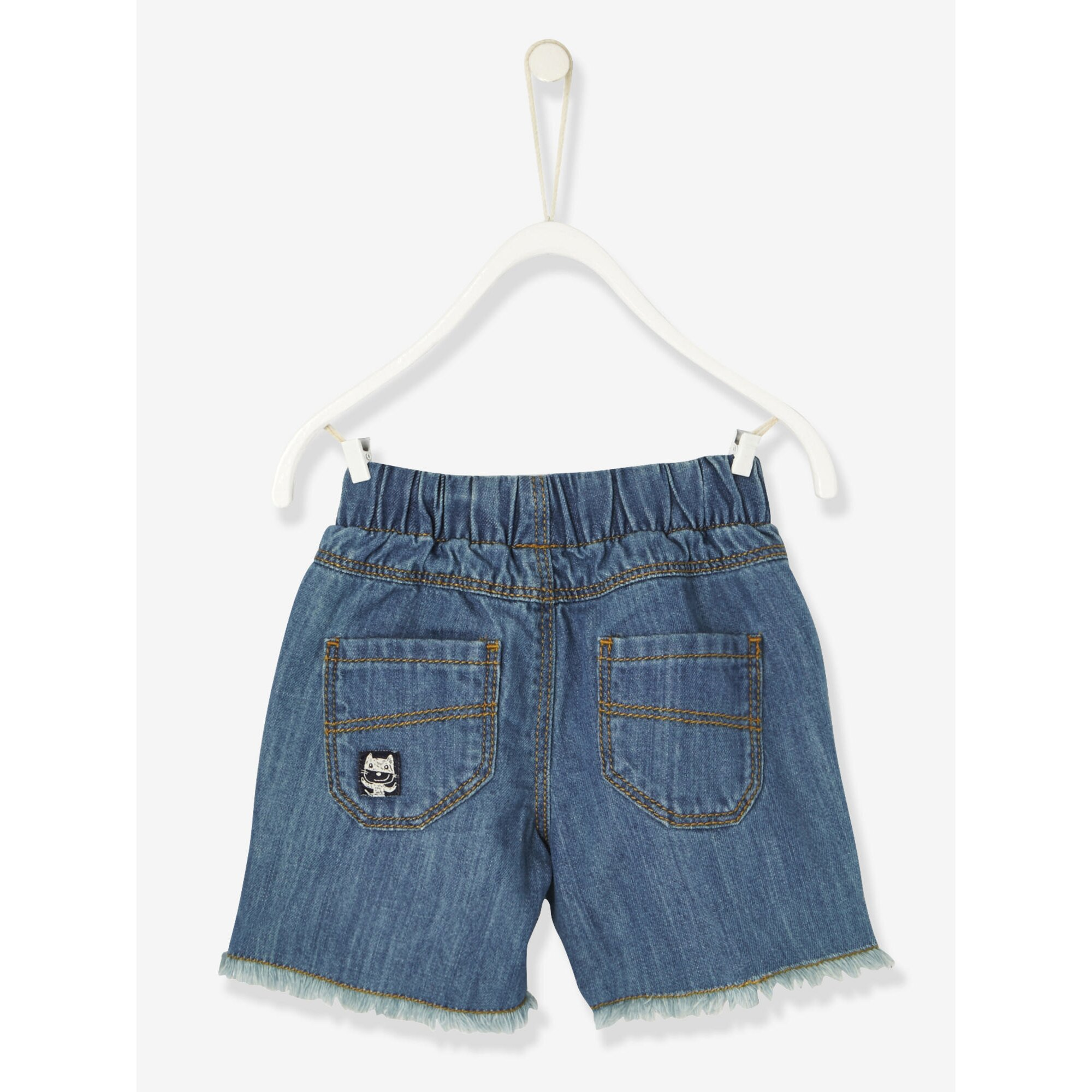 vertbaudet-jeans-bermudas-fur-baby-jungen, 7.79 EUR @ babywalz-de